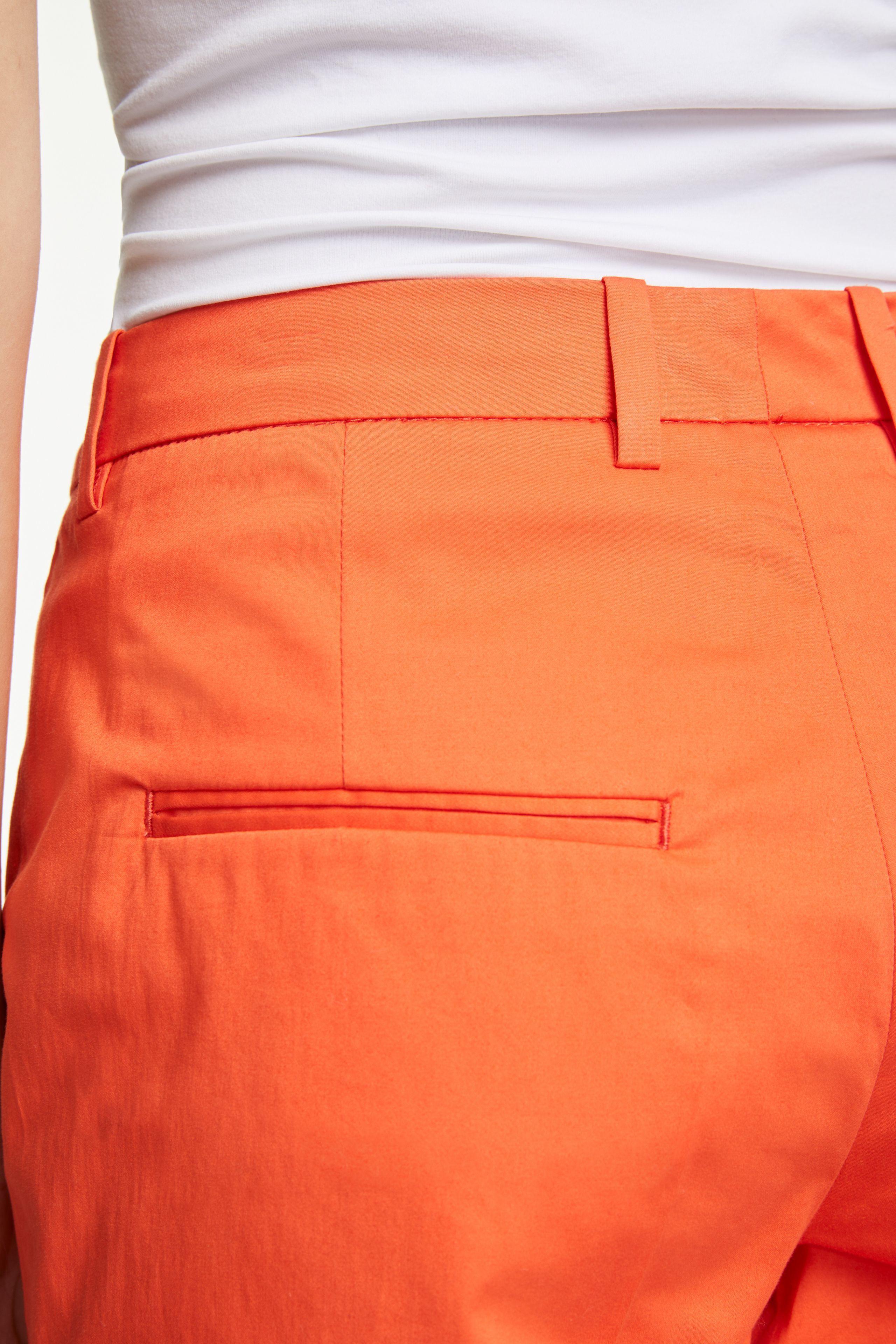 Pencil Trousers Orange