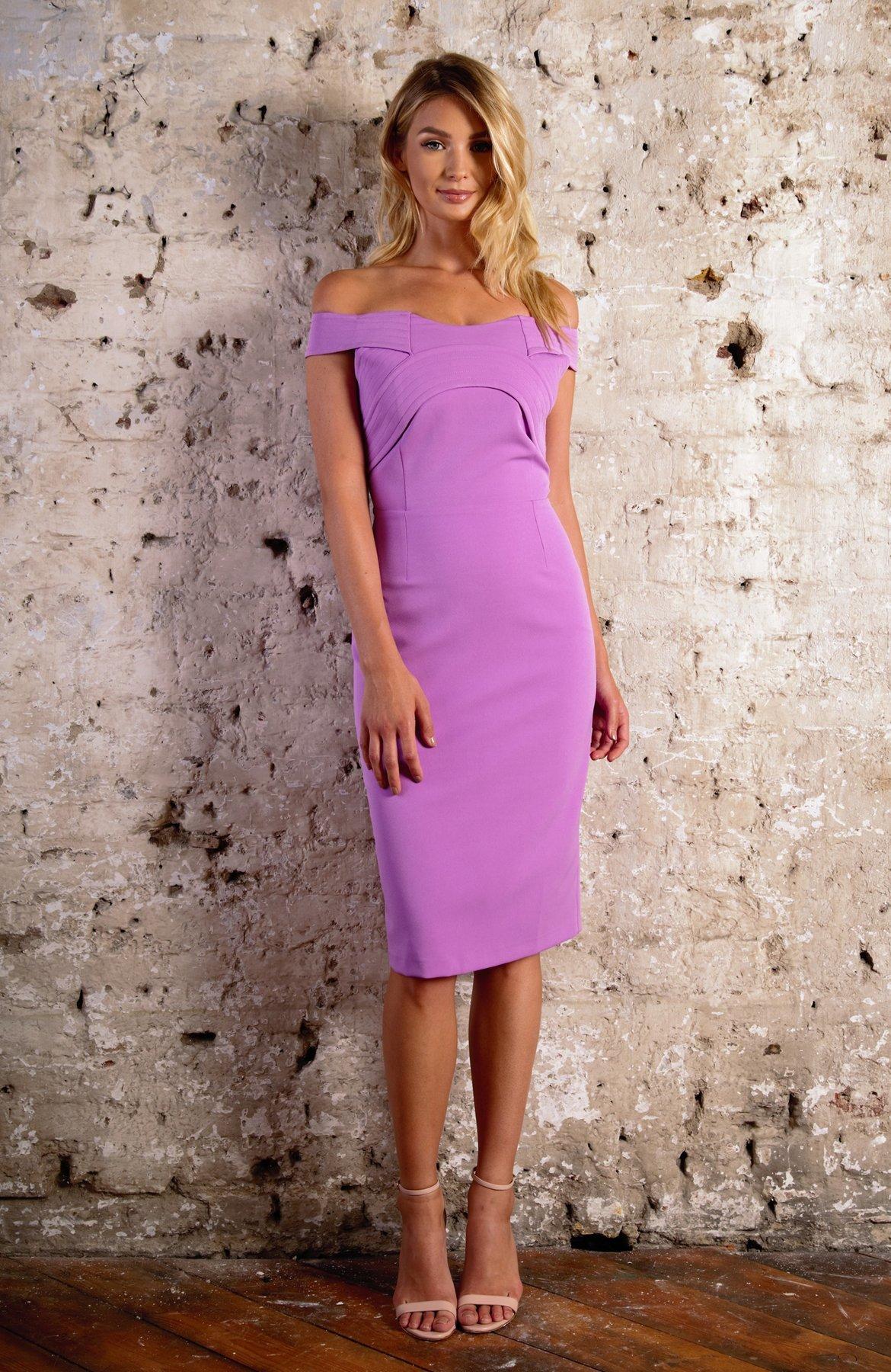 Florence Dress Lilac FKDRFLORENCE