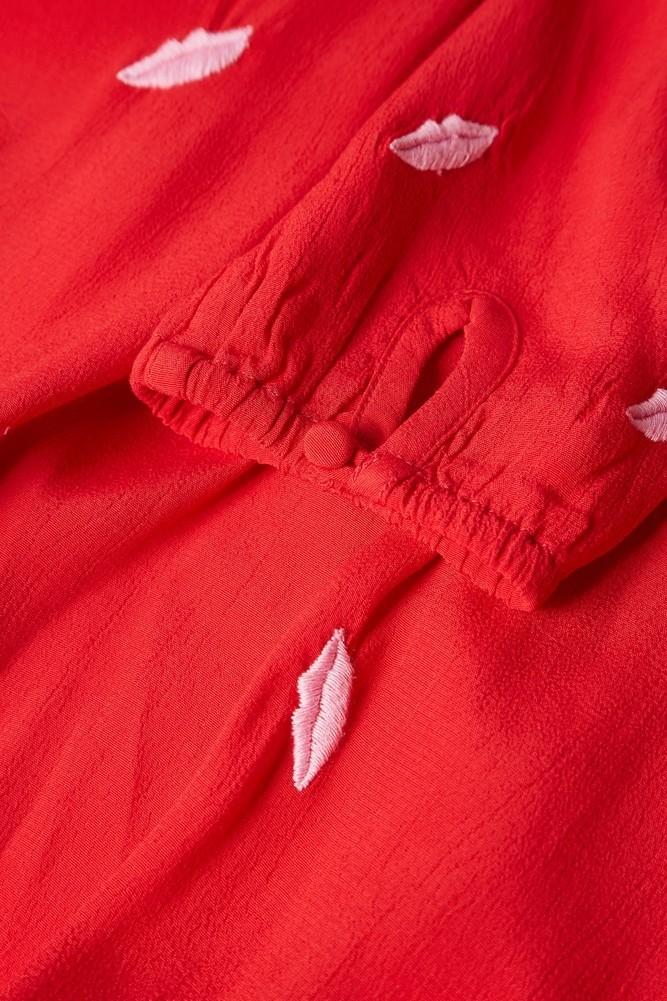 Natasja Dress Red