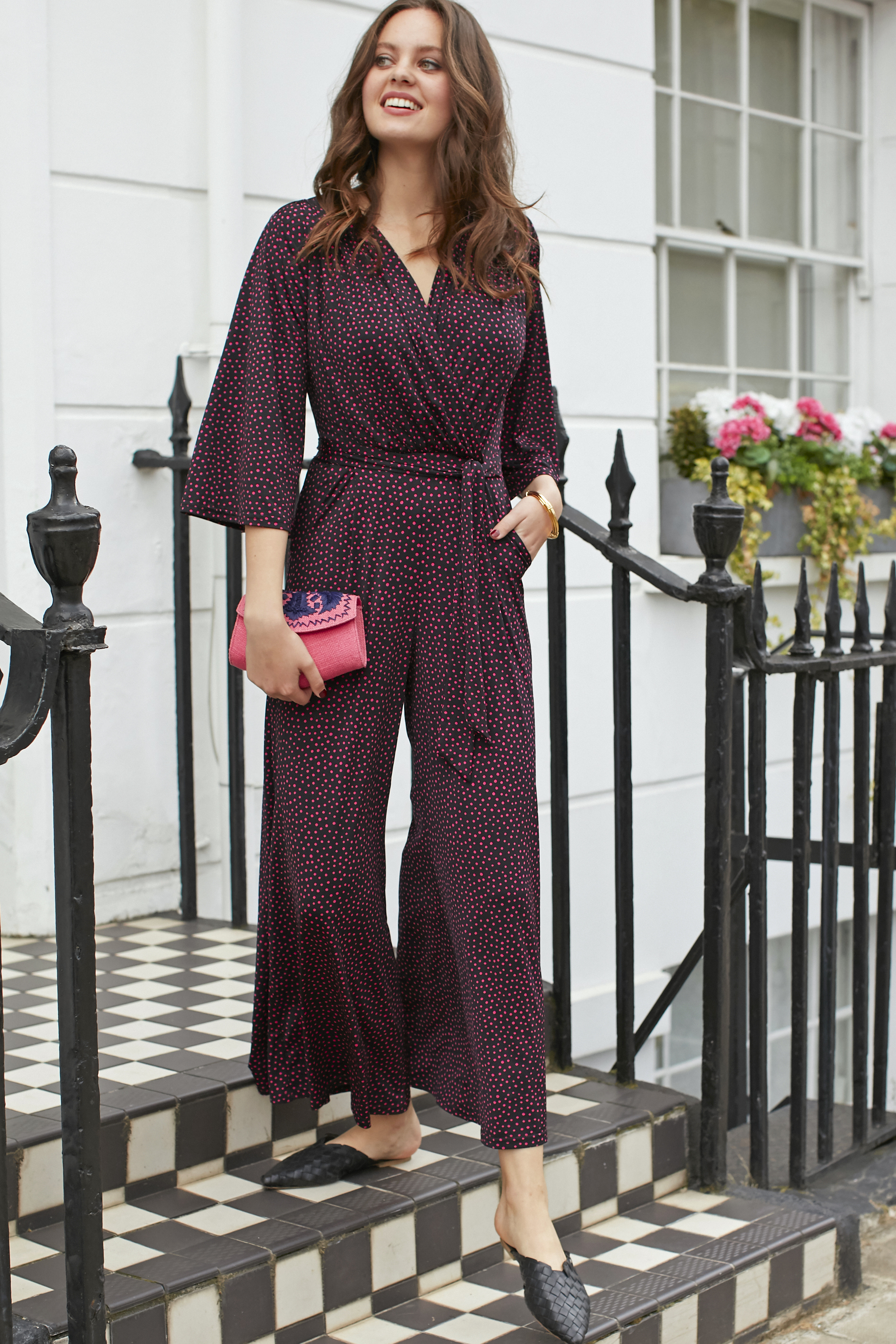 Laurie Jumpsuit in Amele Print 00028