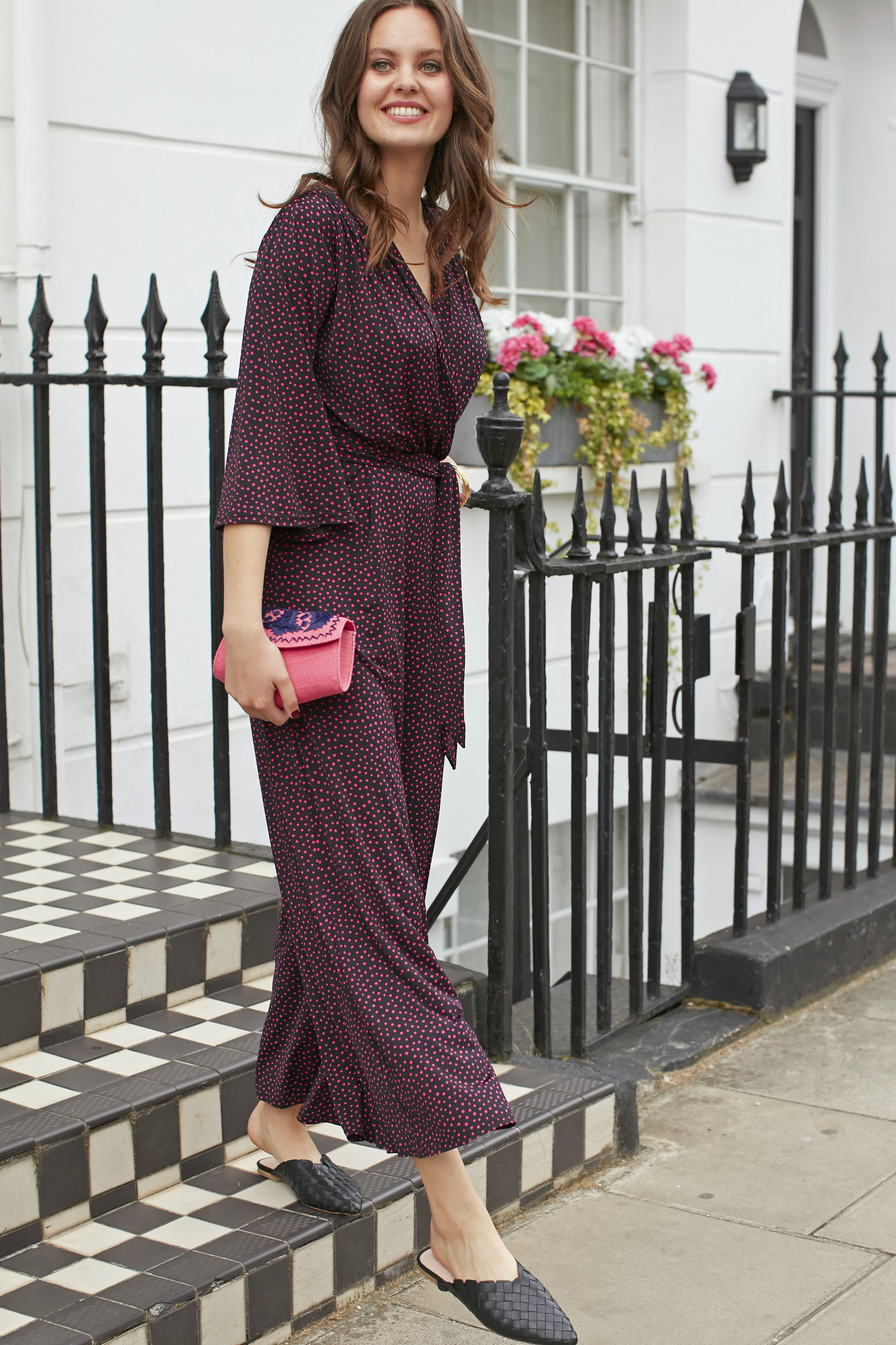 Laurie Jumpsuit in Amele Print