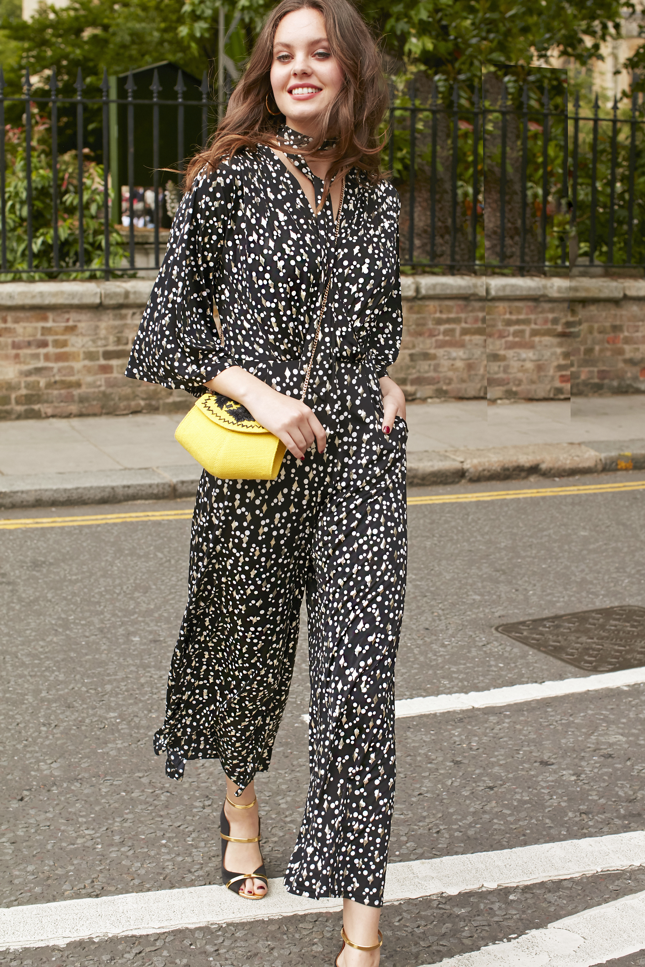 Laurie Jumpsuit in Etoile Print