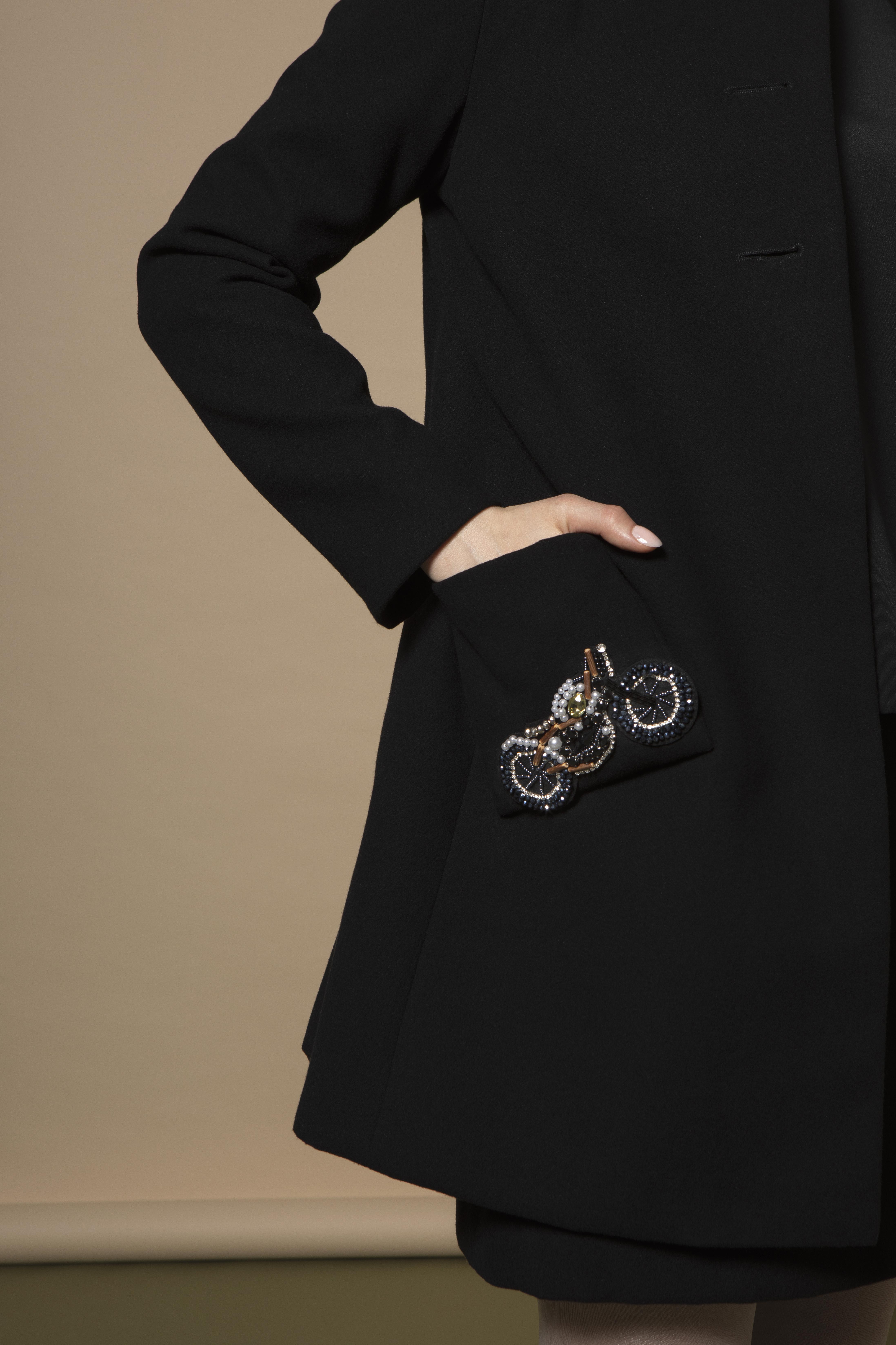 Alexa Coat in Black