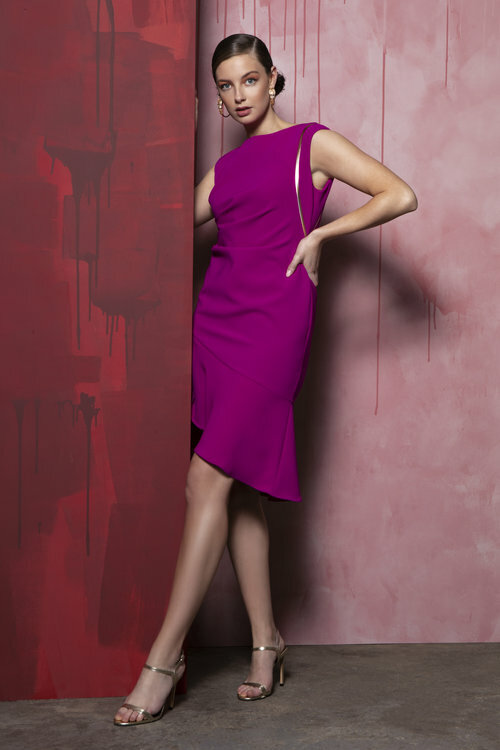 Valerie Dress in Magenta CARKKVALERIEPINK