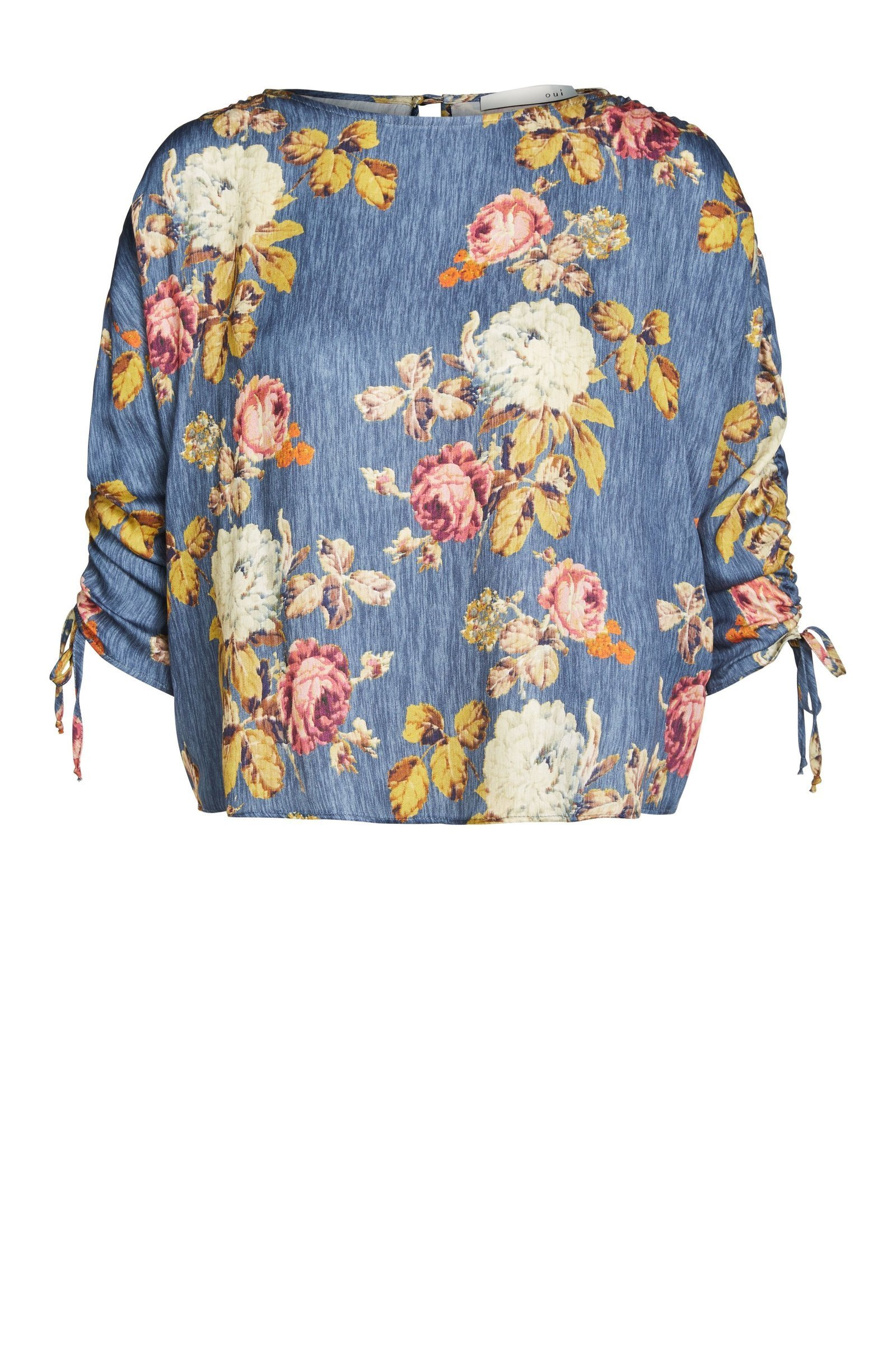 Autumnal Flower Blouse OU62777