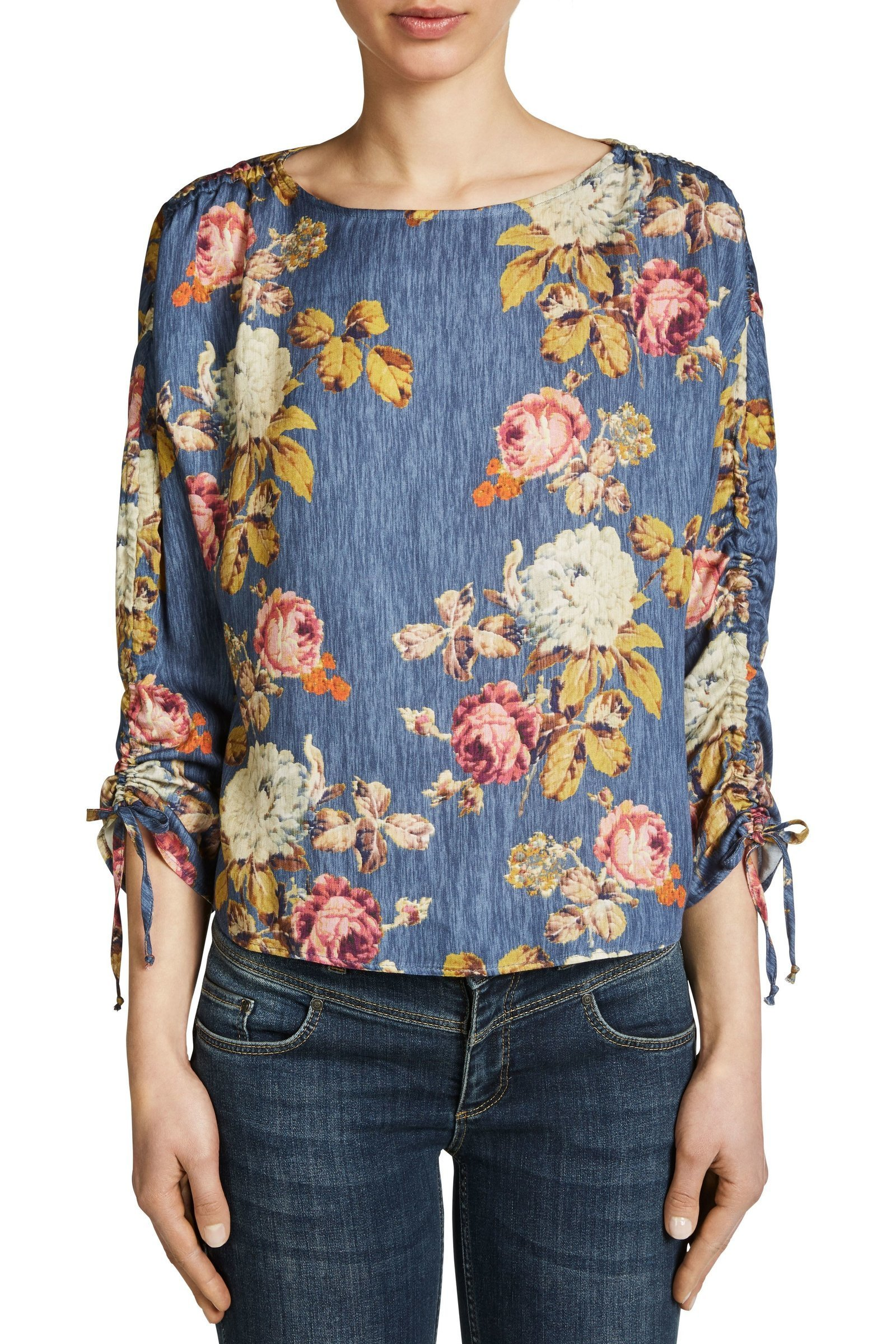 Autumnal Flower Blouse