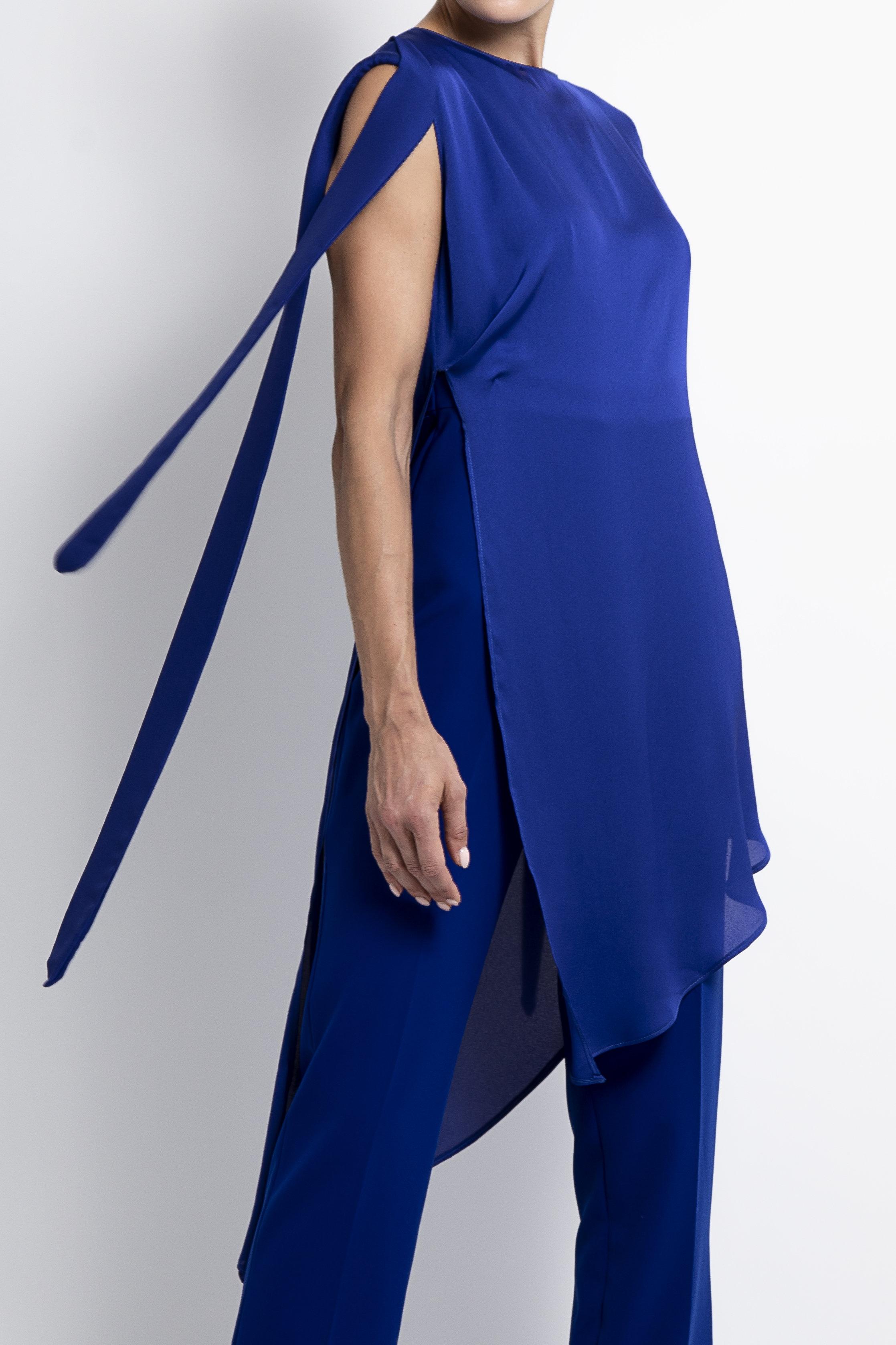 Mila Blue Jumpsuit