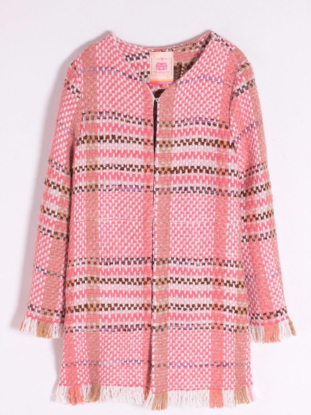 Zoe Coat Coral