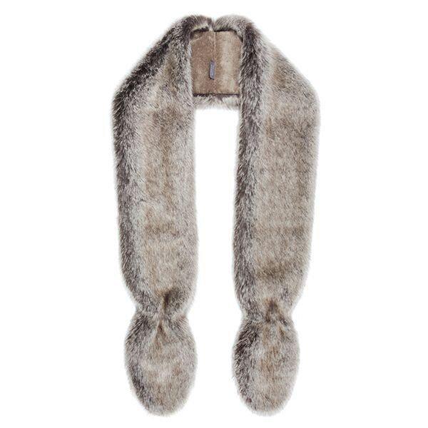 Helen Moore Slim Vixen Faux Fur Wrap truffle 5X9W0WVFSMHE0