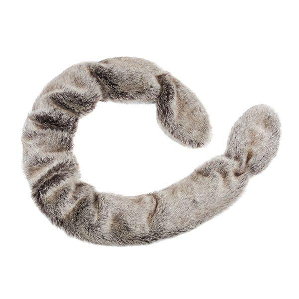 Helen Moore Slim Vixen Faux Fur Wrap truffle