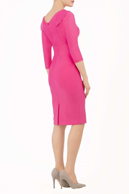 York Dress Fuschia