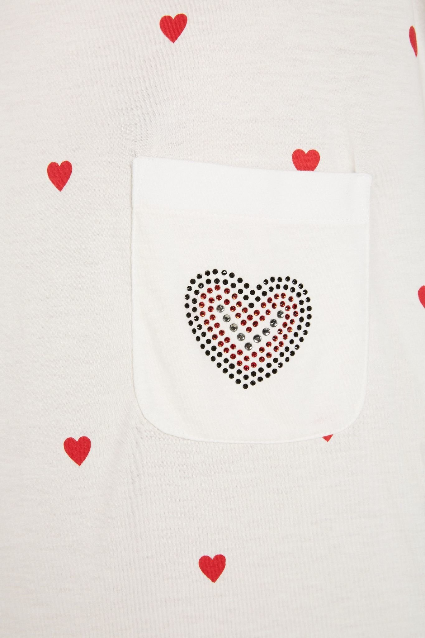 Tshirt With Hearts