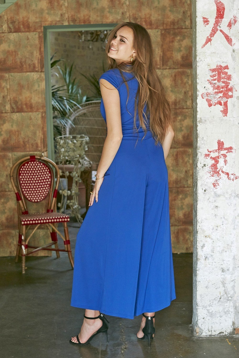 Leia Jumpsuit Blue