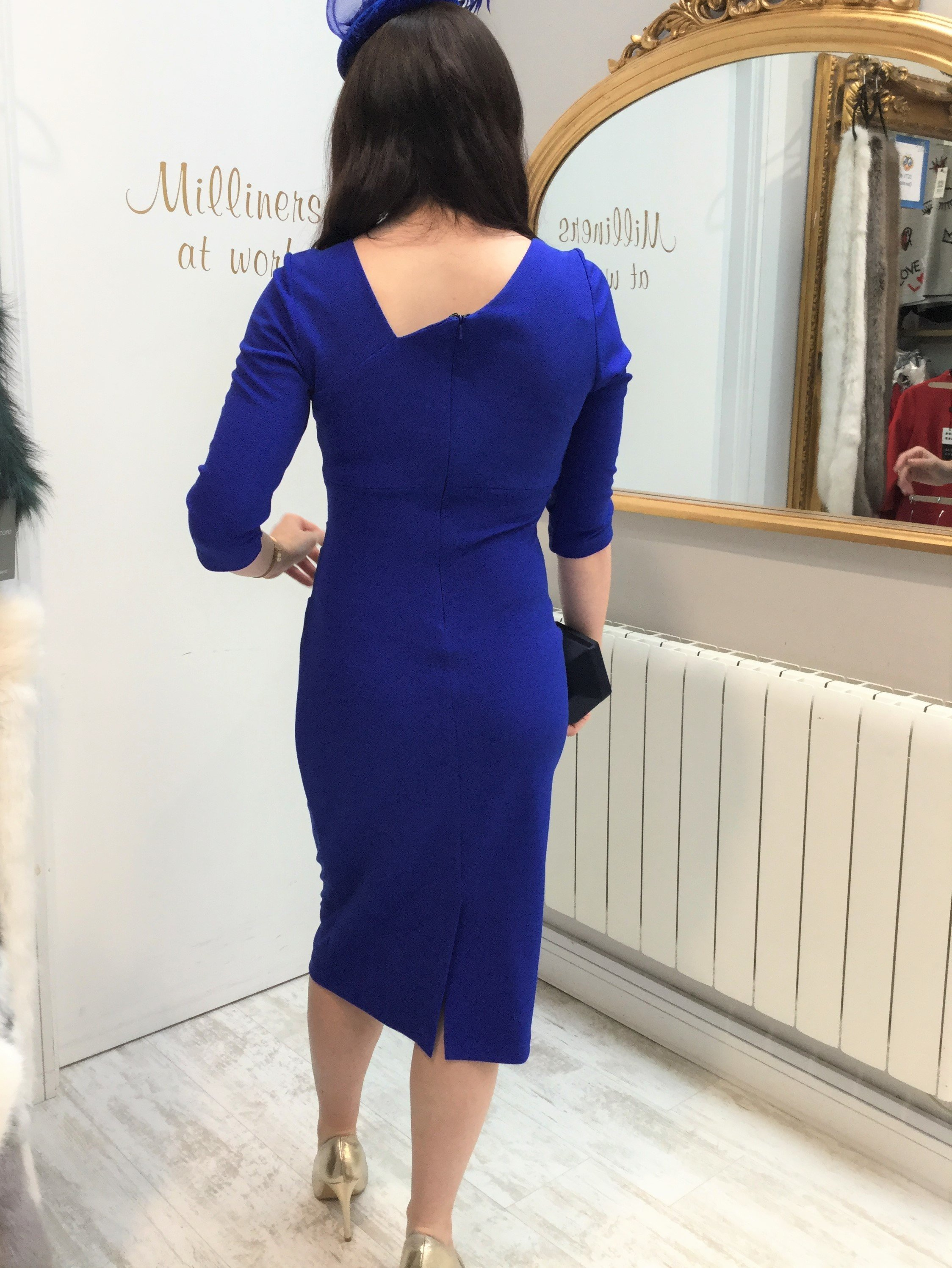 Kubrick Dress Cobalt Blue