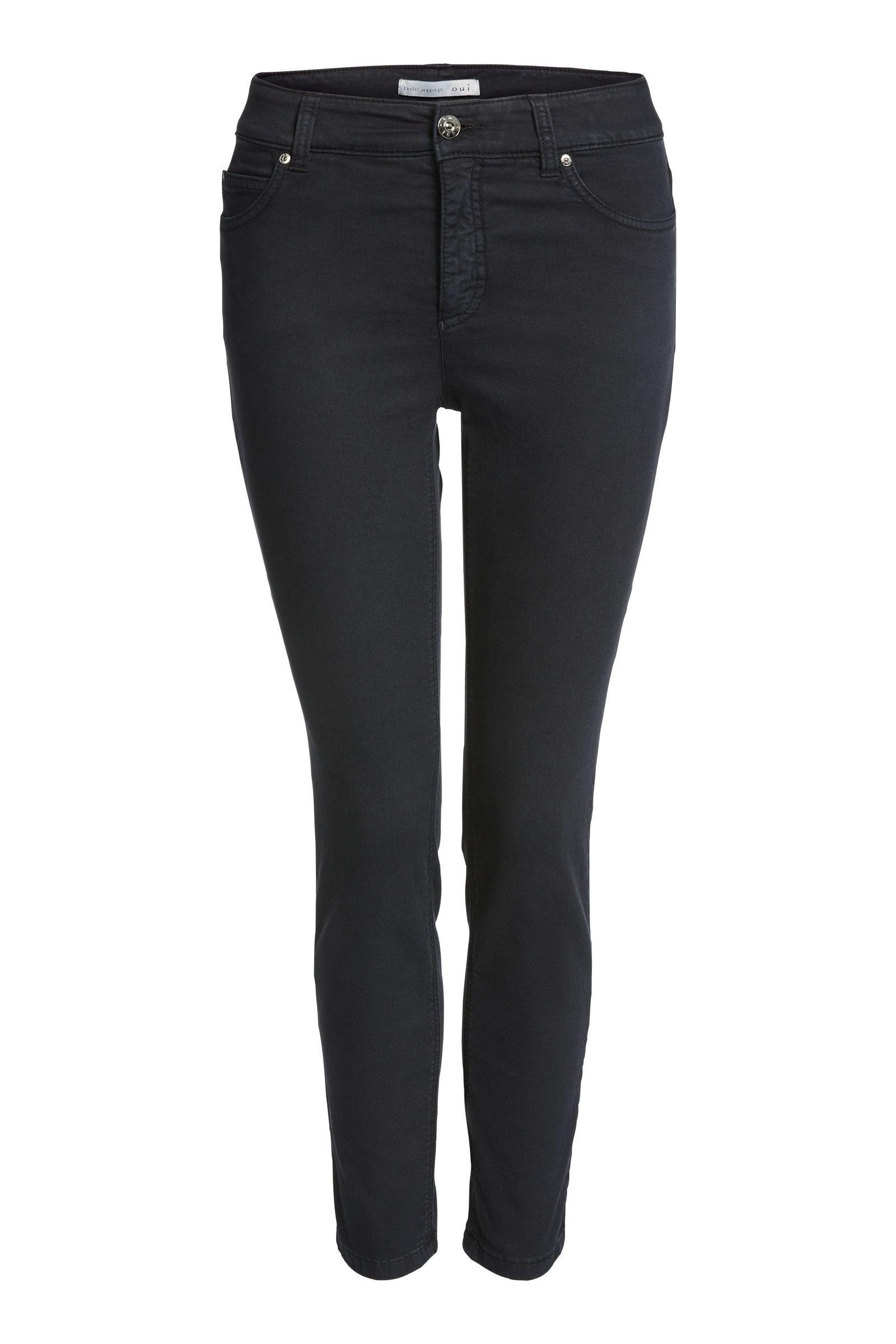 Slim Fit Jeans Black OUTR51644BLACK