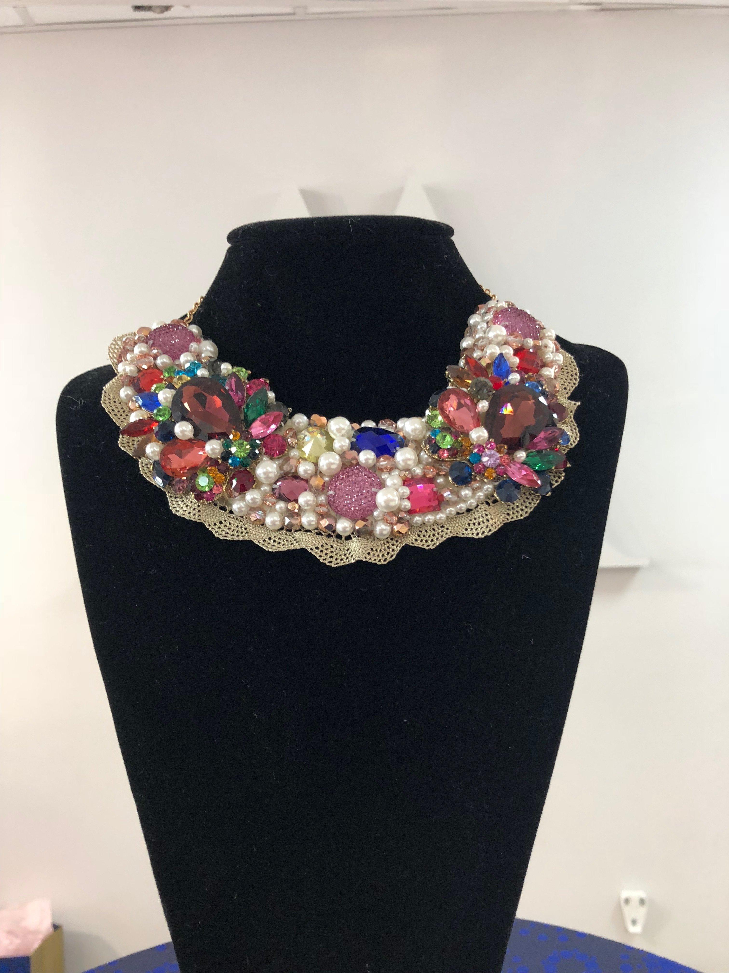 Aisling Maher Collar pearl/plum/multi 5NMJ1Y6J57W0E