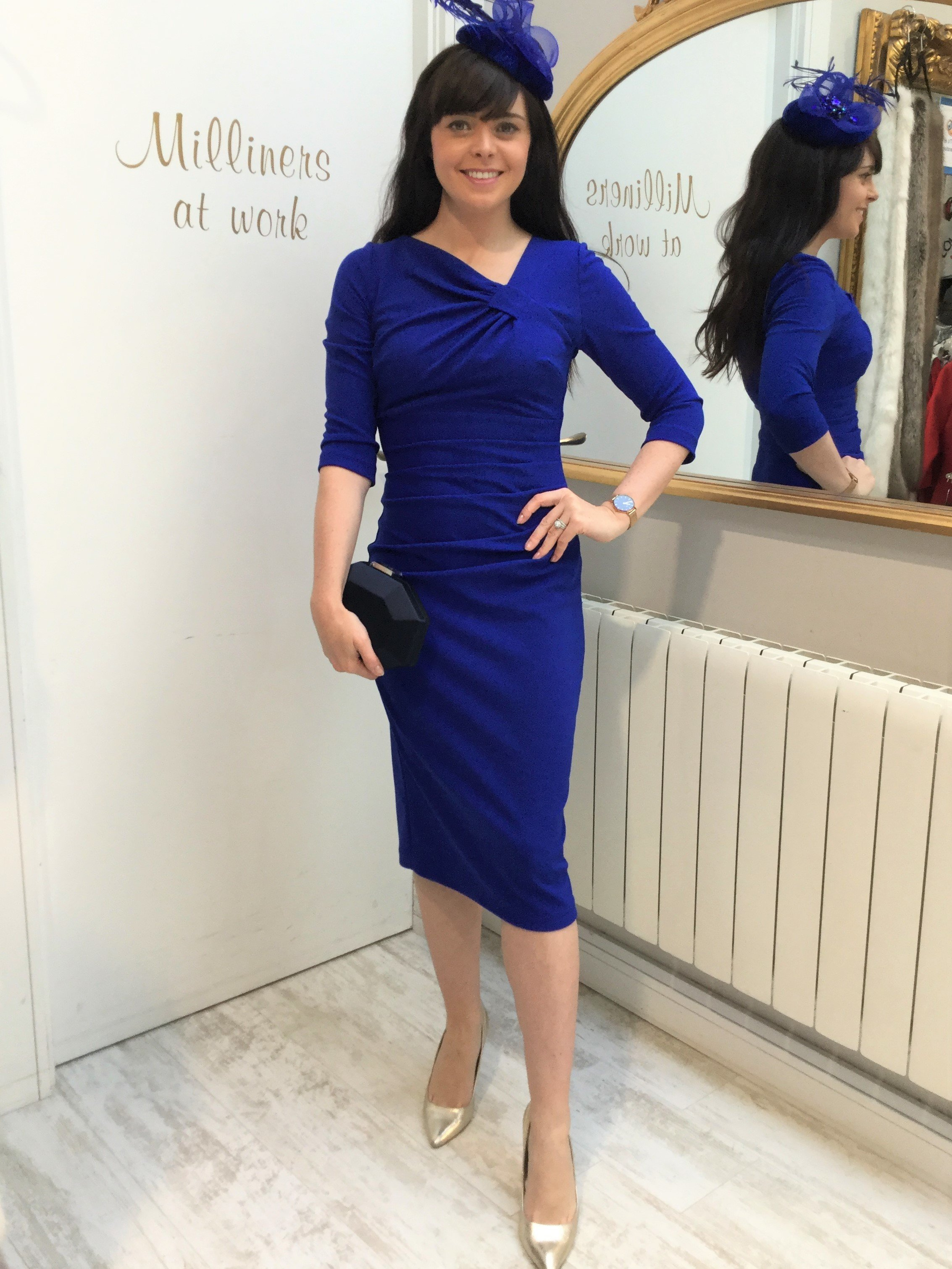 Kubrick Dress Cobalt Blue DIDRKUBRICK