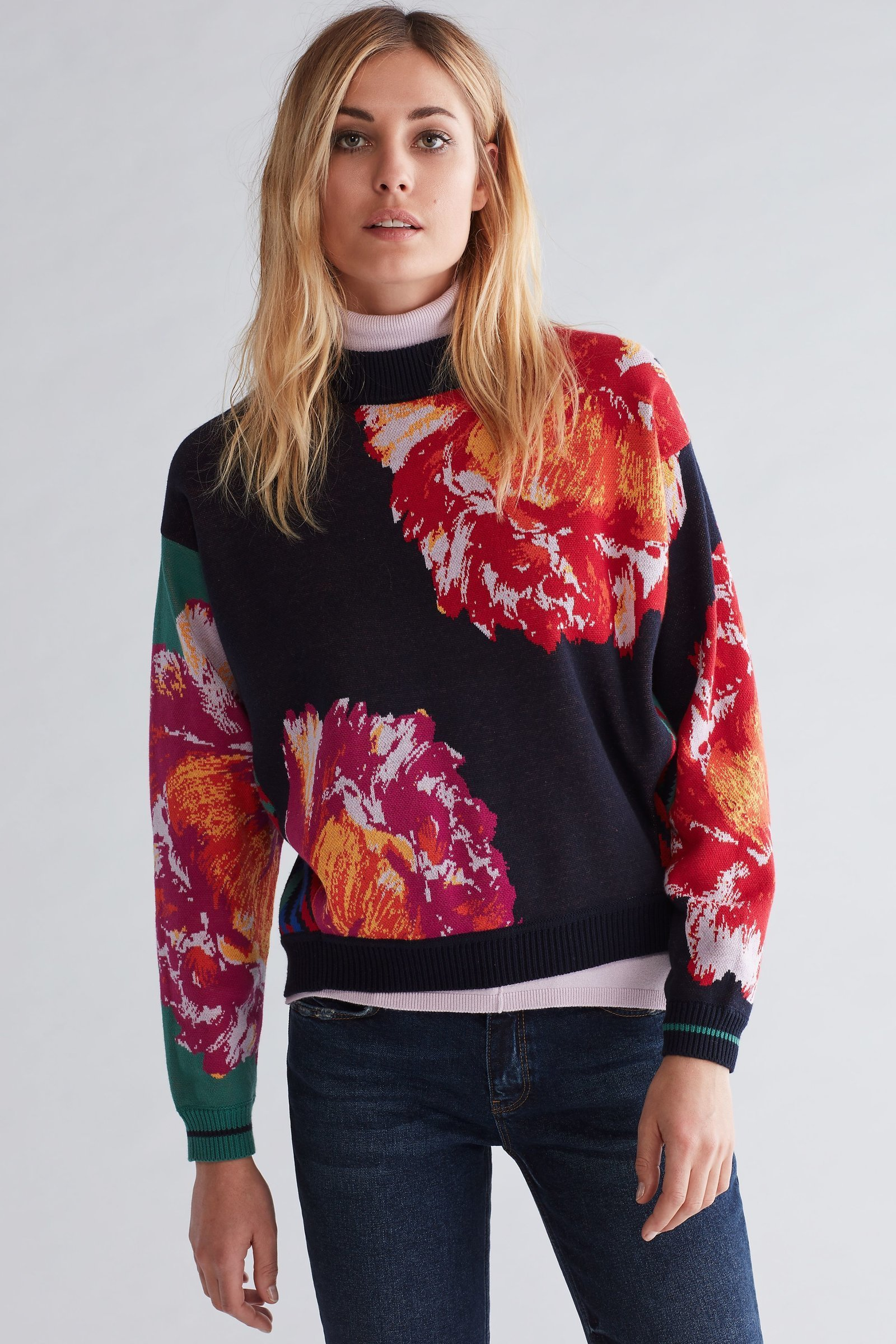 Floral Sweater OUTO63303