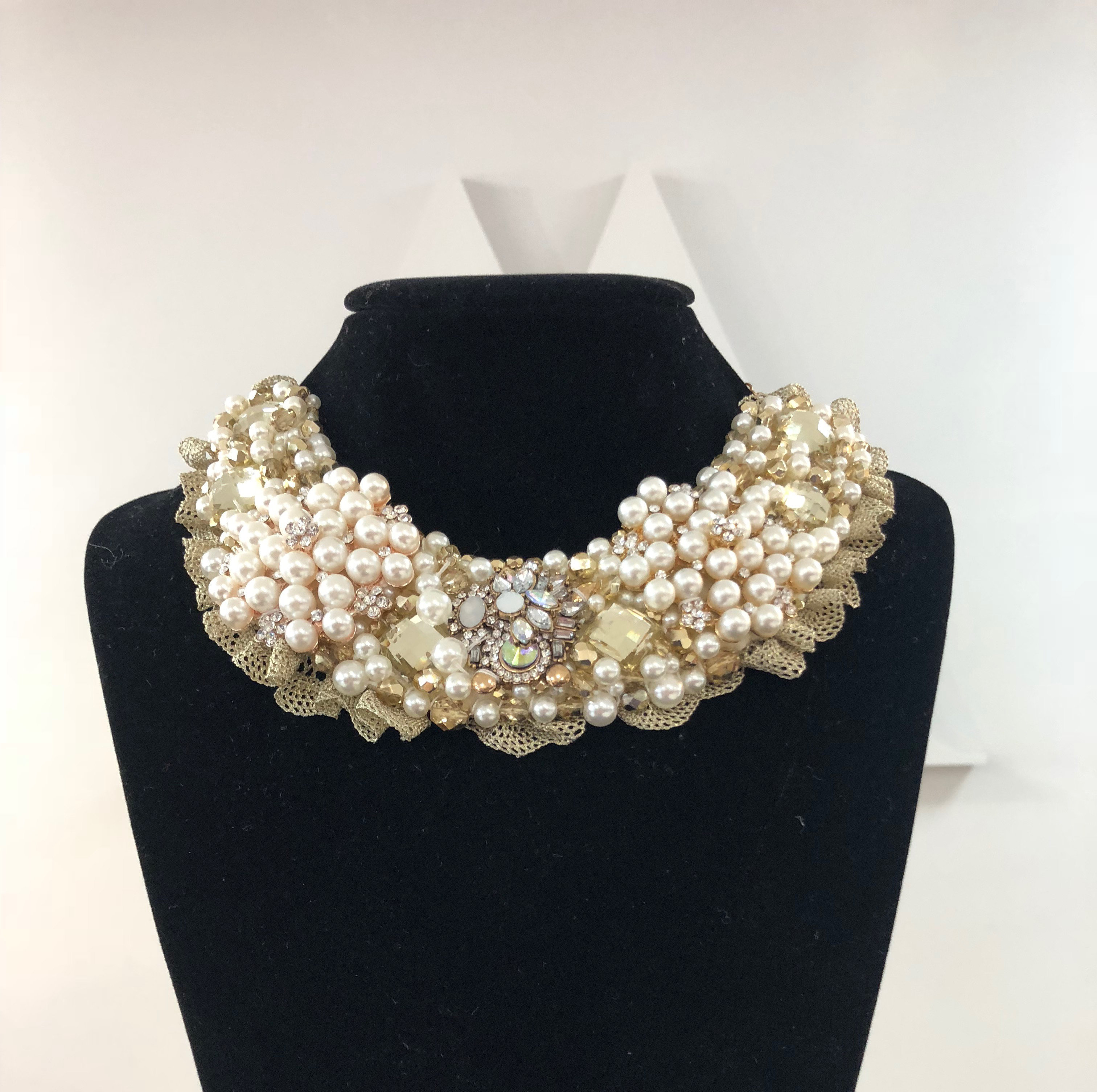Aisling Maher Collar pearl/gold/bling YHMDZJ57GJQ70