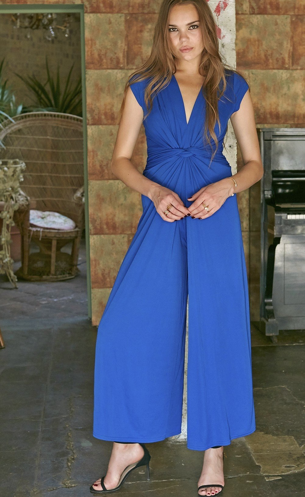 Leia Jumpsuit Blue ONJJULEIABLUE