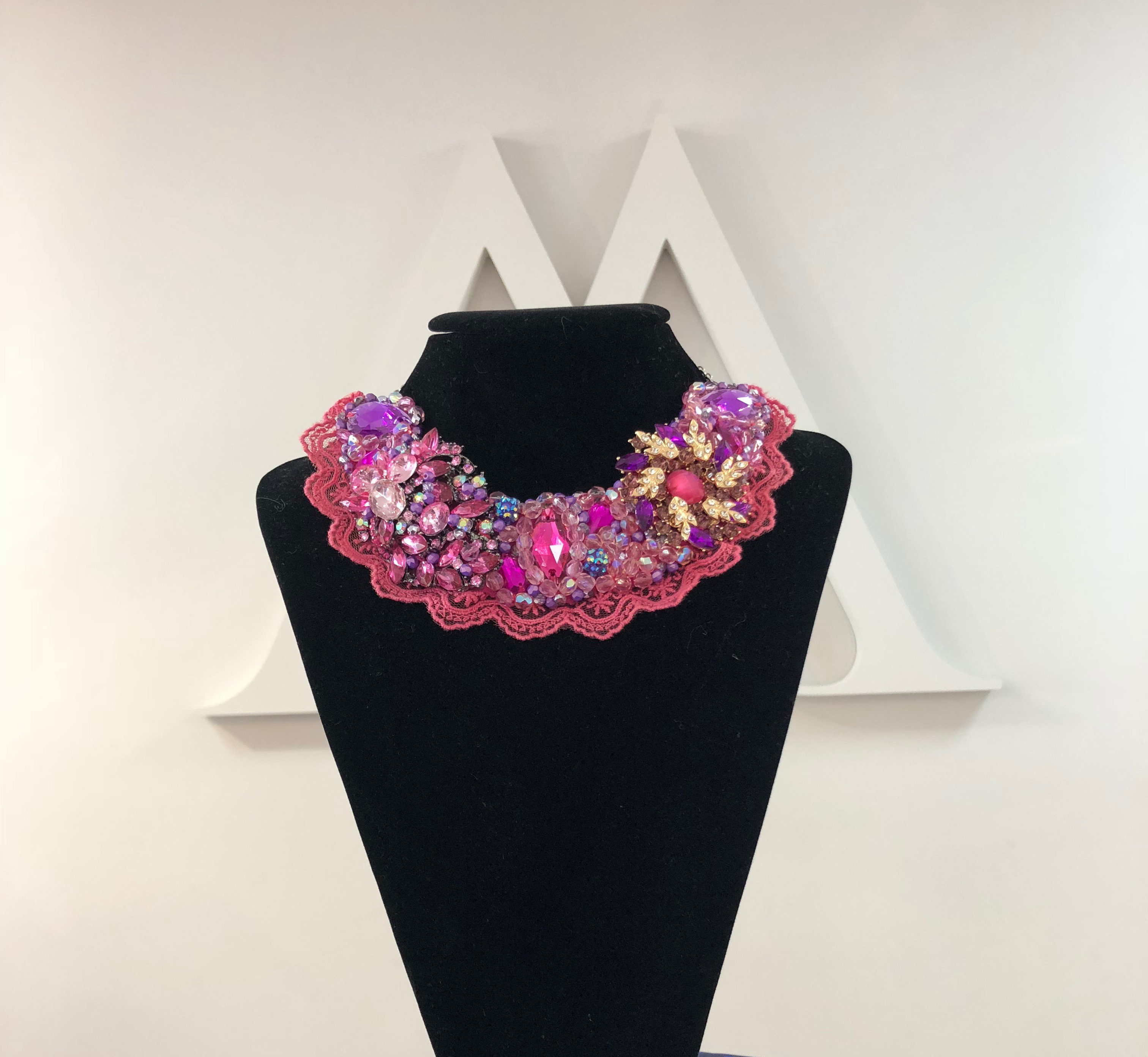 Aisling Maher Collar pink/purple X90FTREMN4E5R