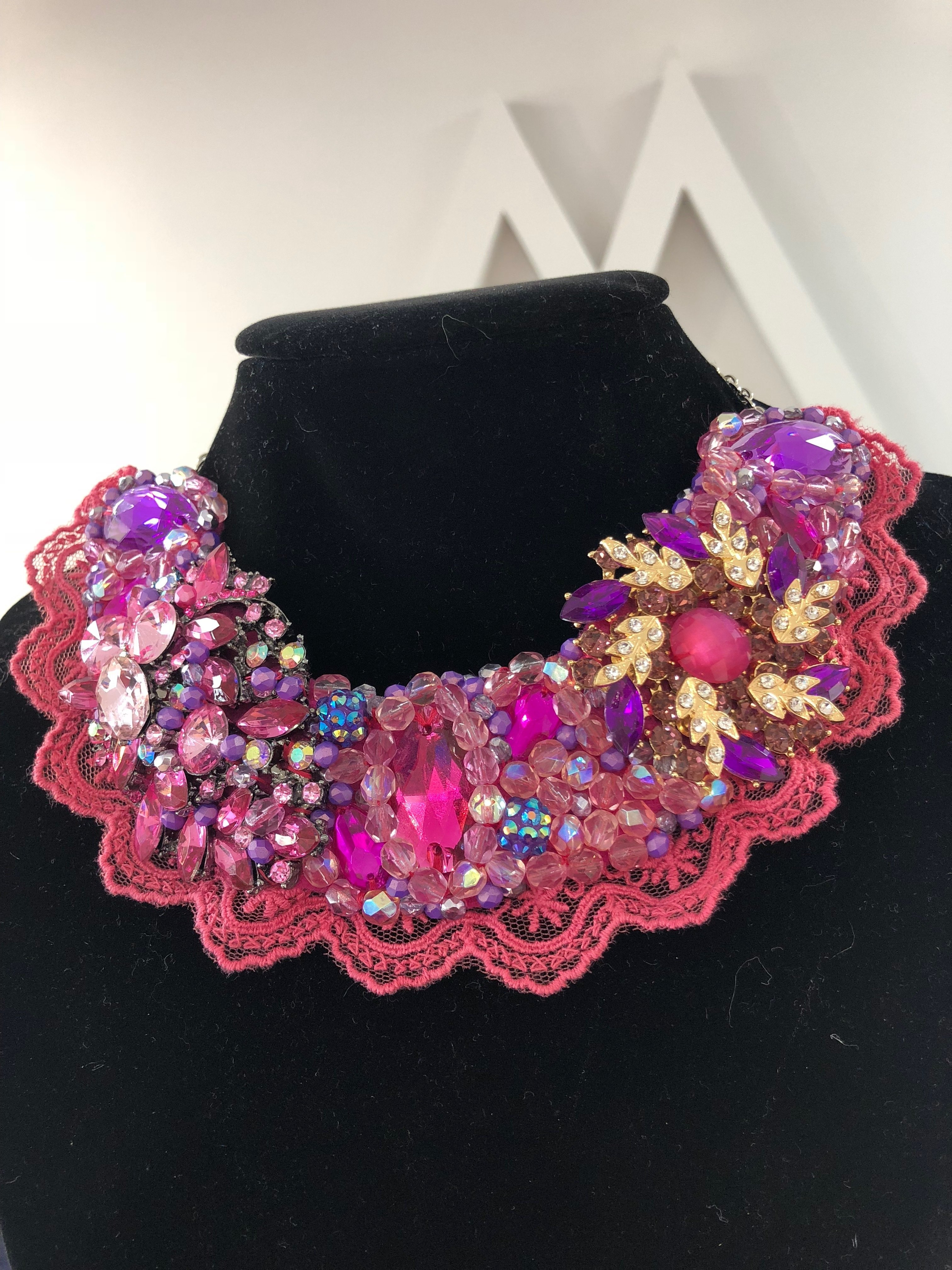 Aisling Maher Collar pink/purple