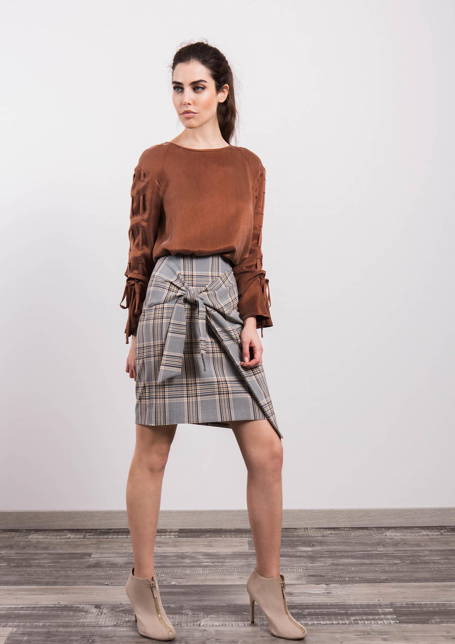 Printed Skirt ACSK5201