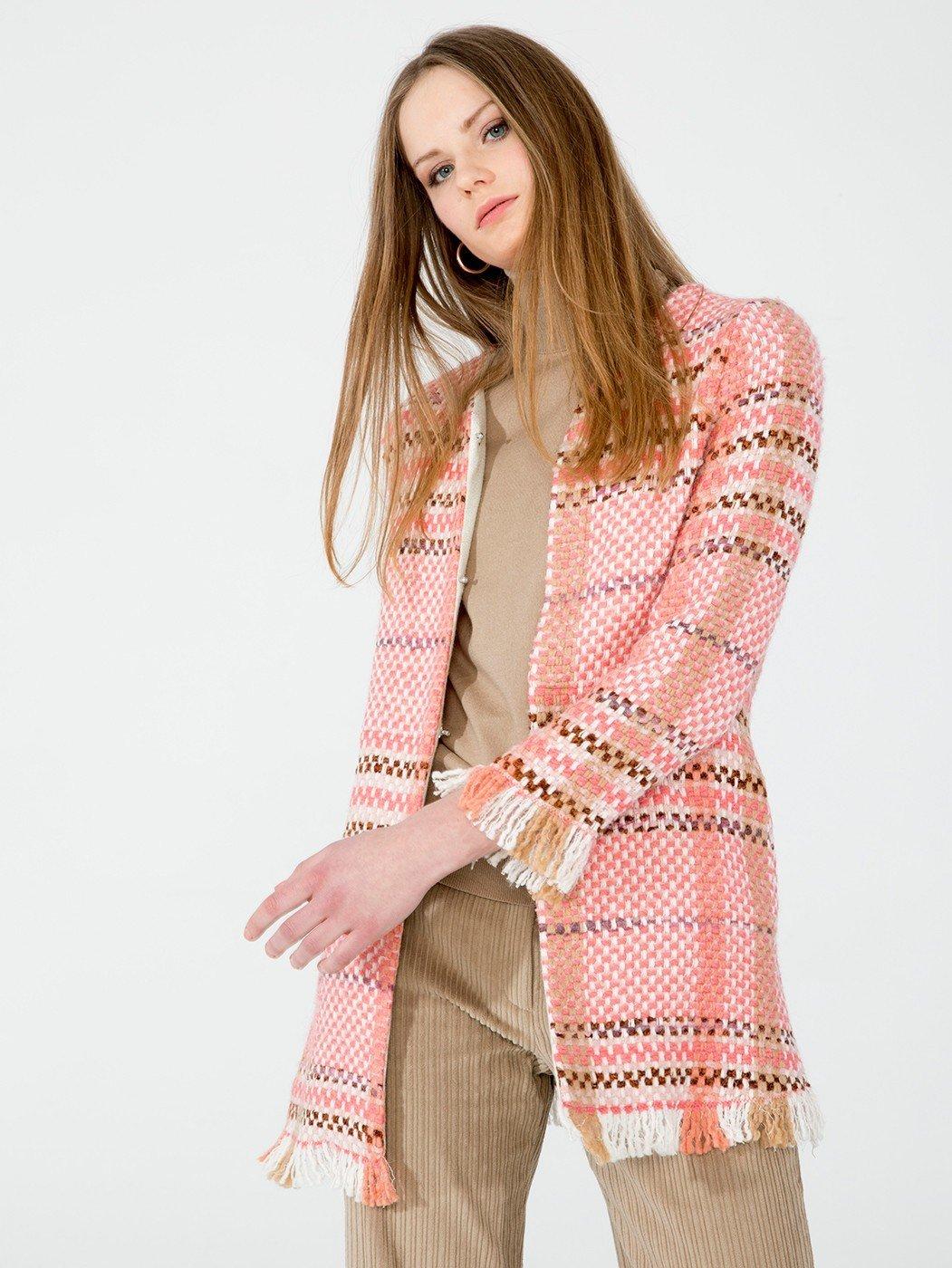 Zoe Coat Coral VGCOZOECORAL