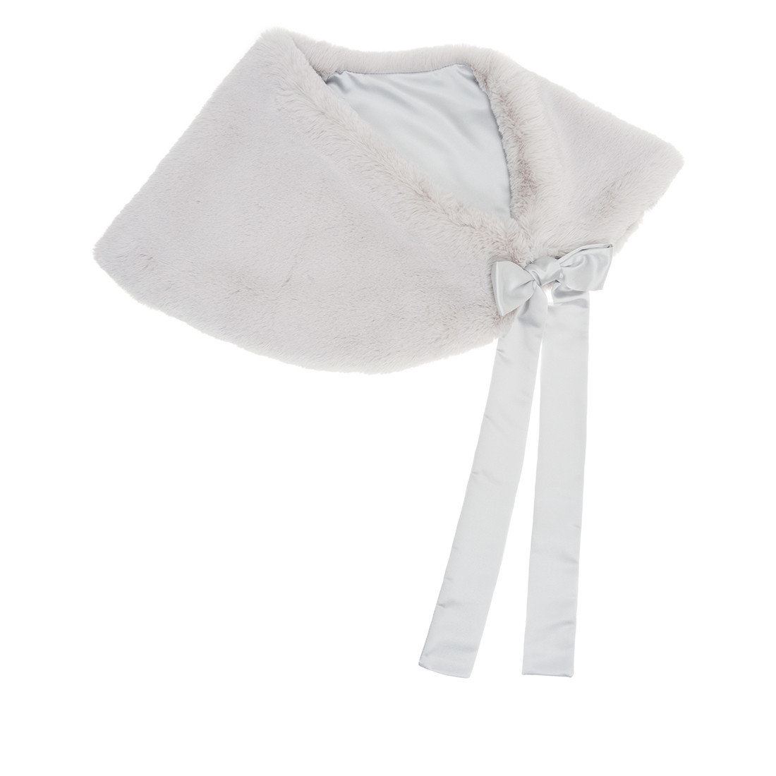 Helen Moore Bridal Shoulder Wrap ermine