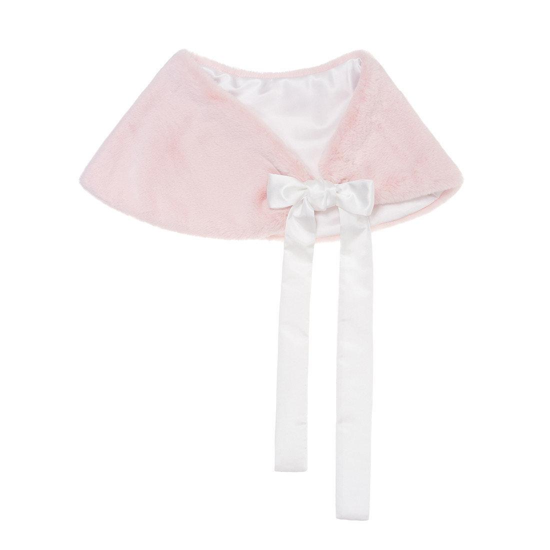 Helen Moore Bridal Shoulder Wrap pink