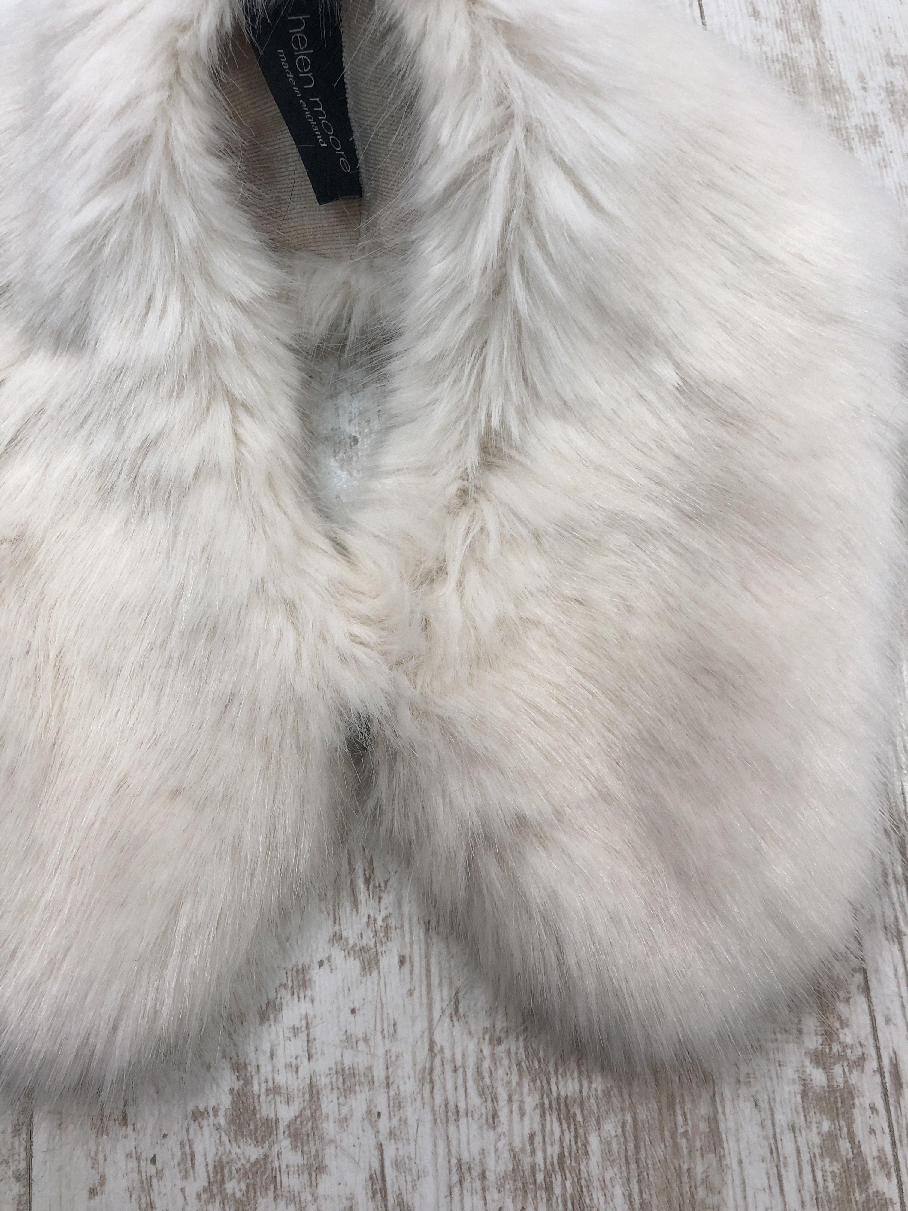 Helen Moore Shirt Collar Fur ermine