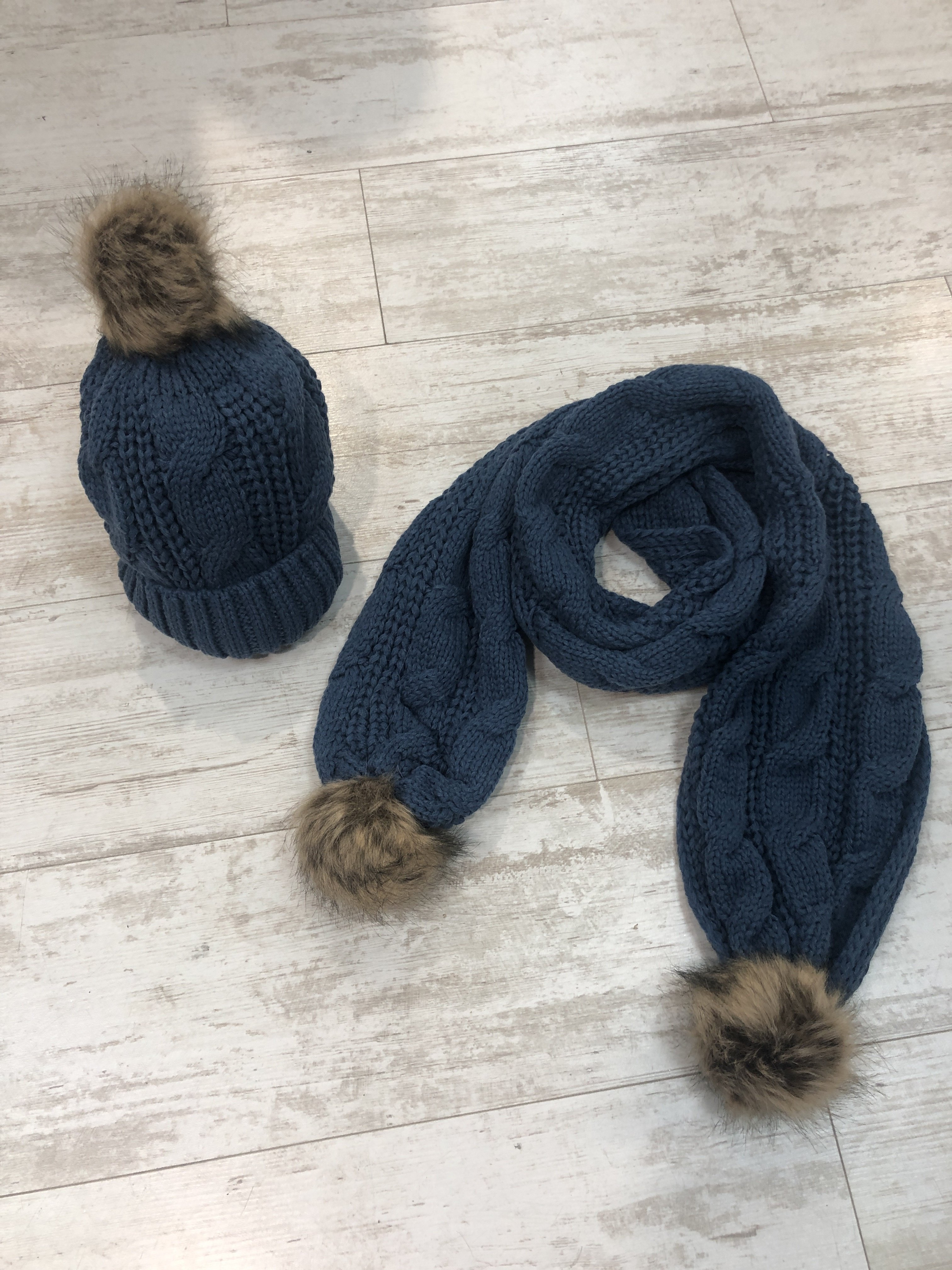 Hat And Scarf Set blue AXVJQQAM5KCMY