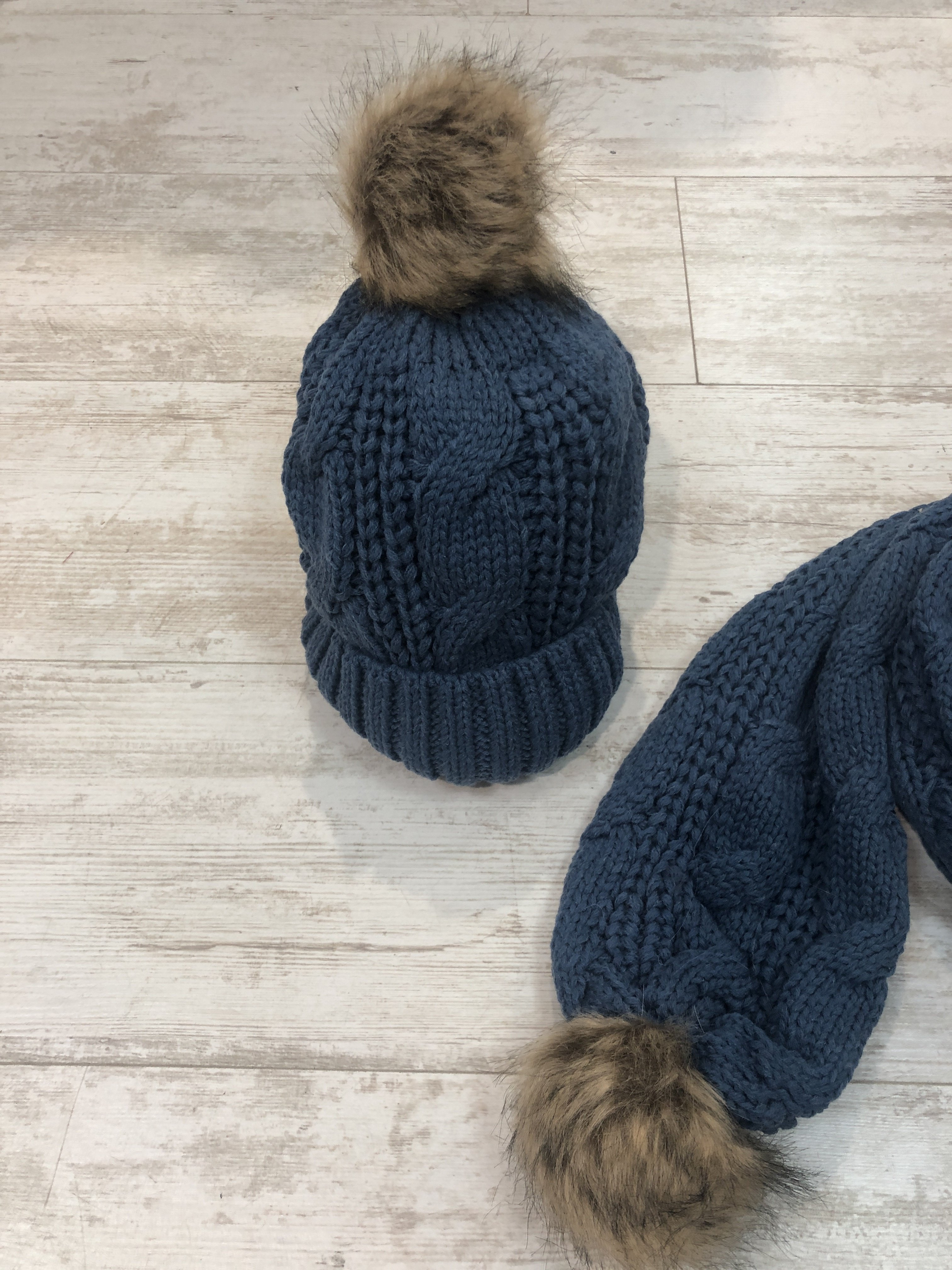 Hat And Scarf Set blue