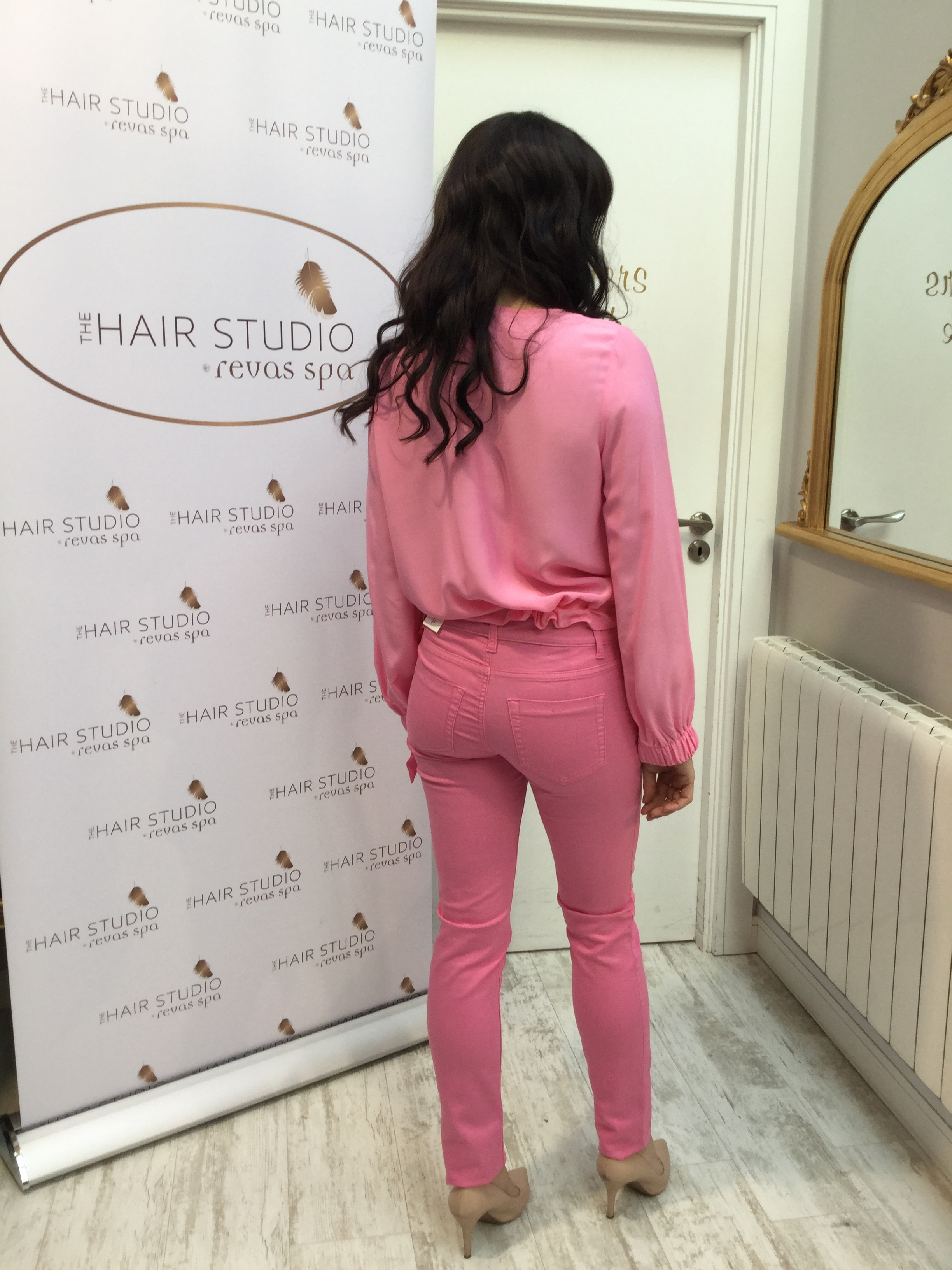 Bright Pink Slim Fit Jegging