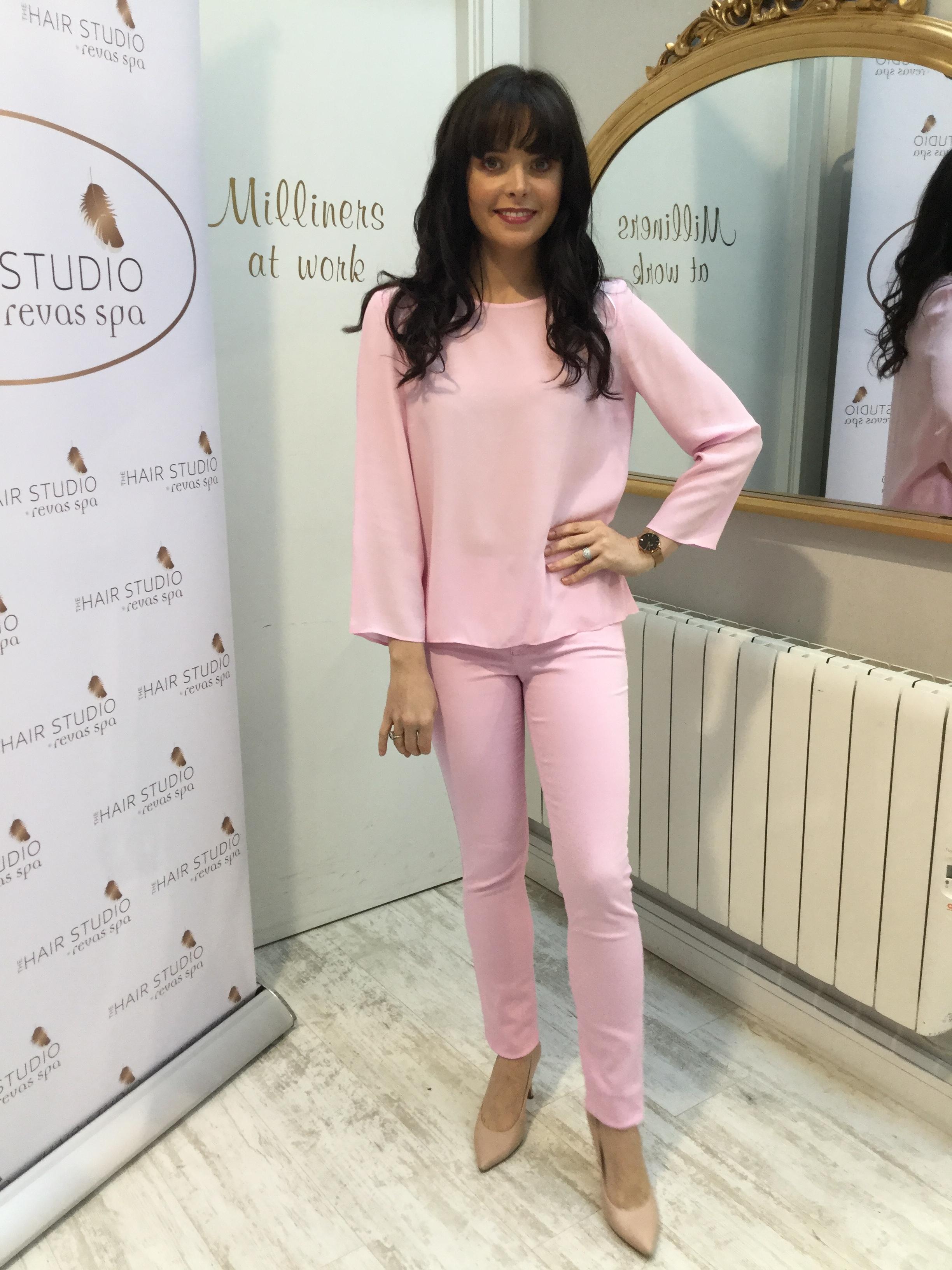 Orchid Pink Slim Fit Jeans OU!29184LGPK