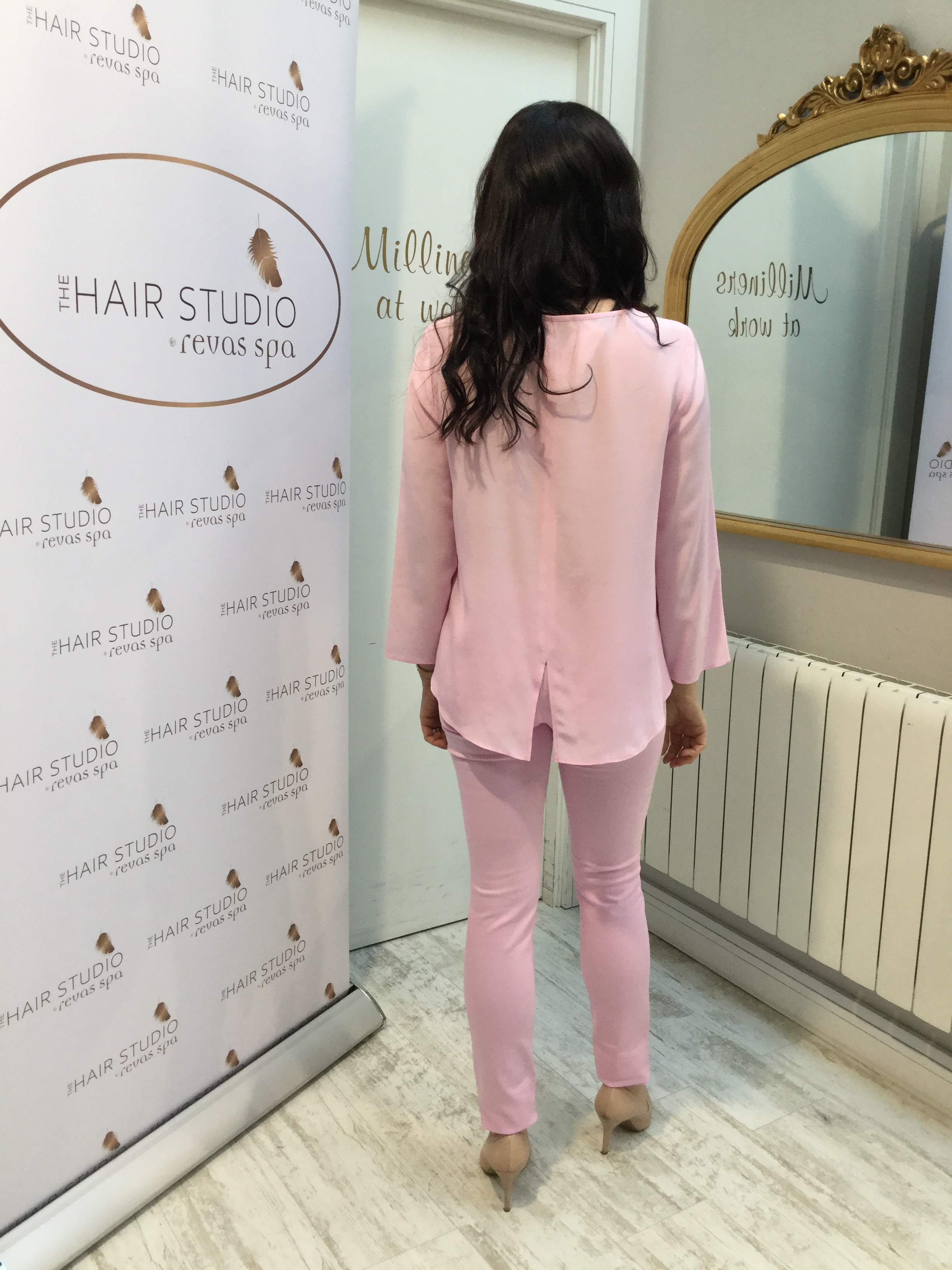 Orchid Pink Slim Fit Jeans