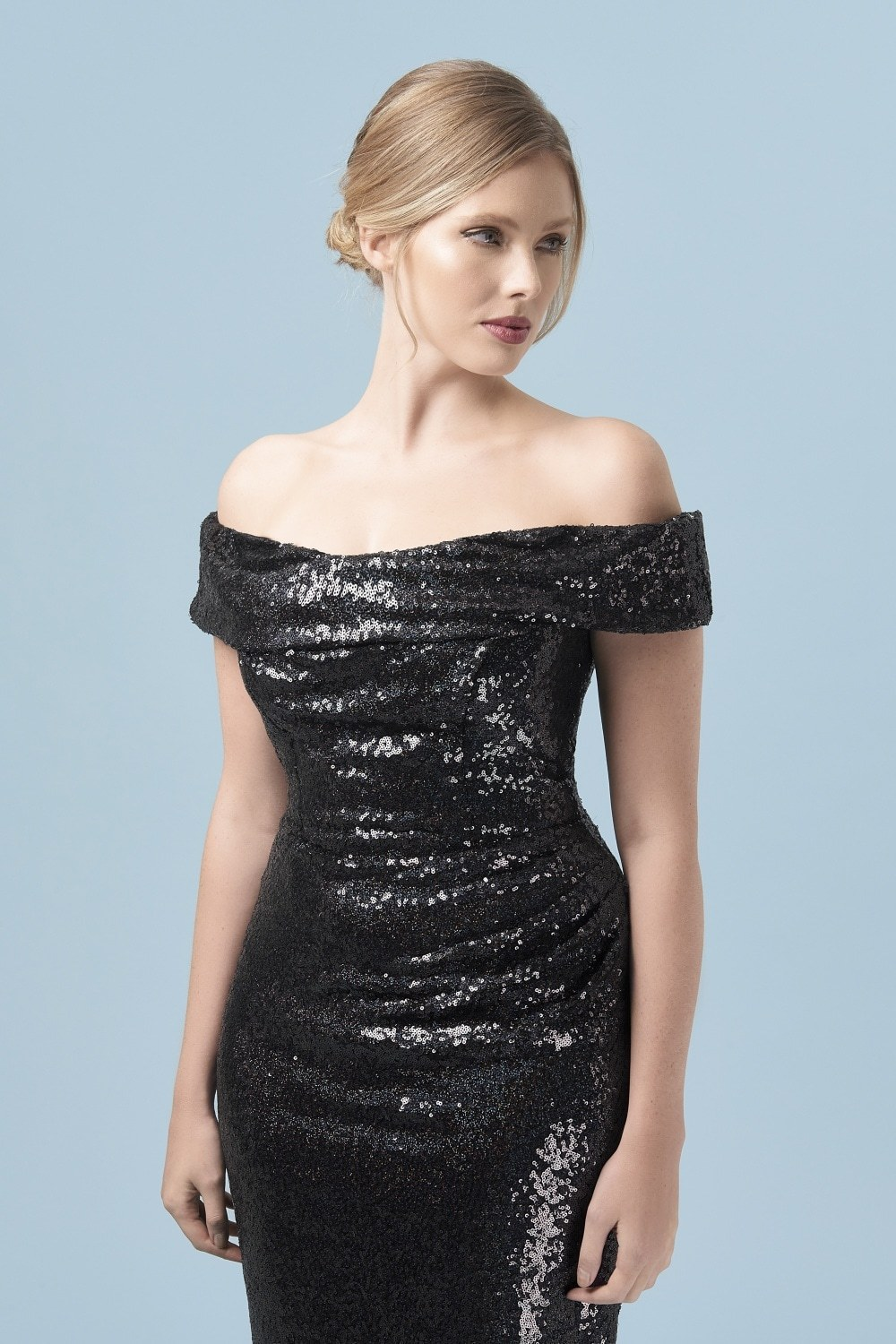 Thea Sequin Pencil Dress