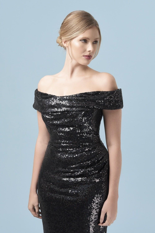 Thea Sequin Pencil Dress