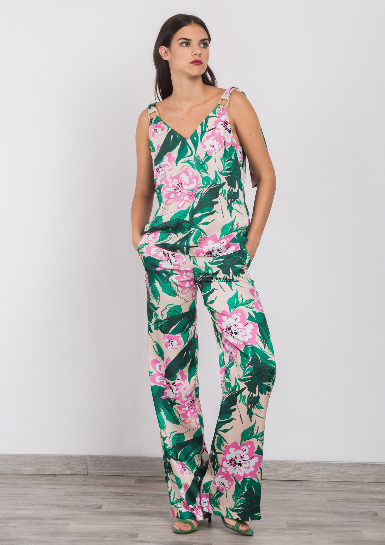 Floral Trousers ACTR1511