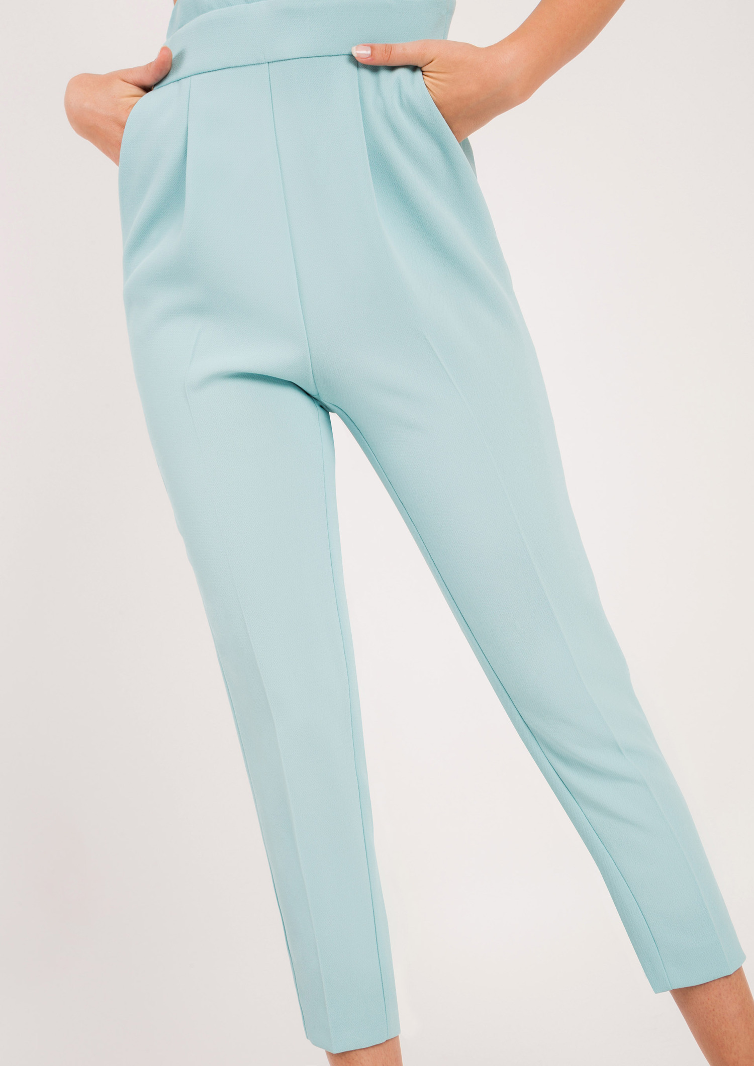 Jumpsuit with Frill and Bows Mint