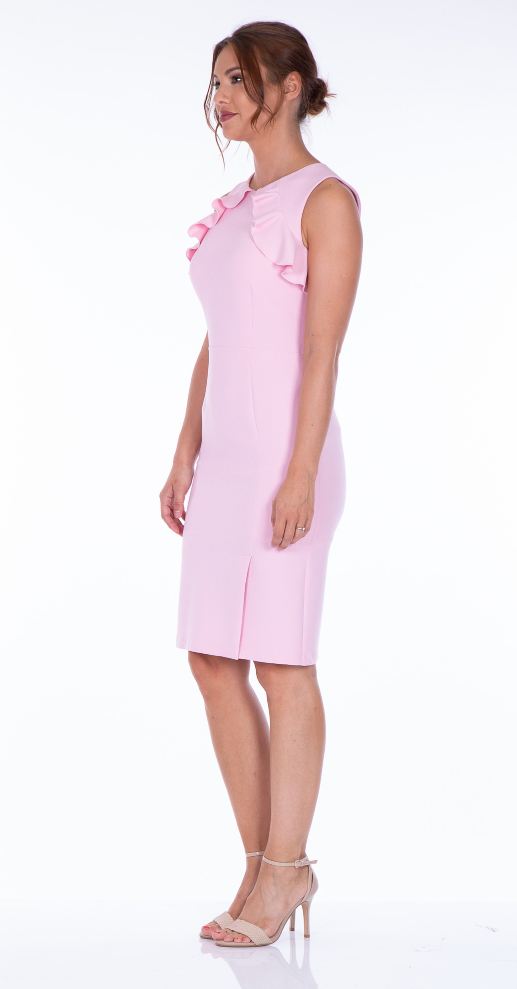 Lena Dress in Beautifully Delicate Pale Pink