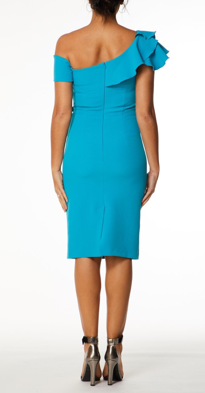 Calypso Dress in Beautifully Rich Turquoise Colour