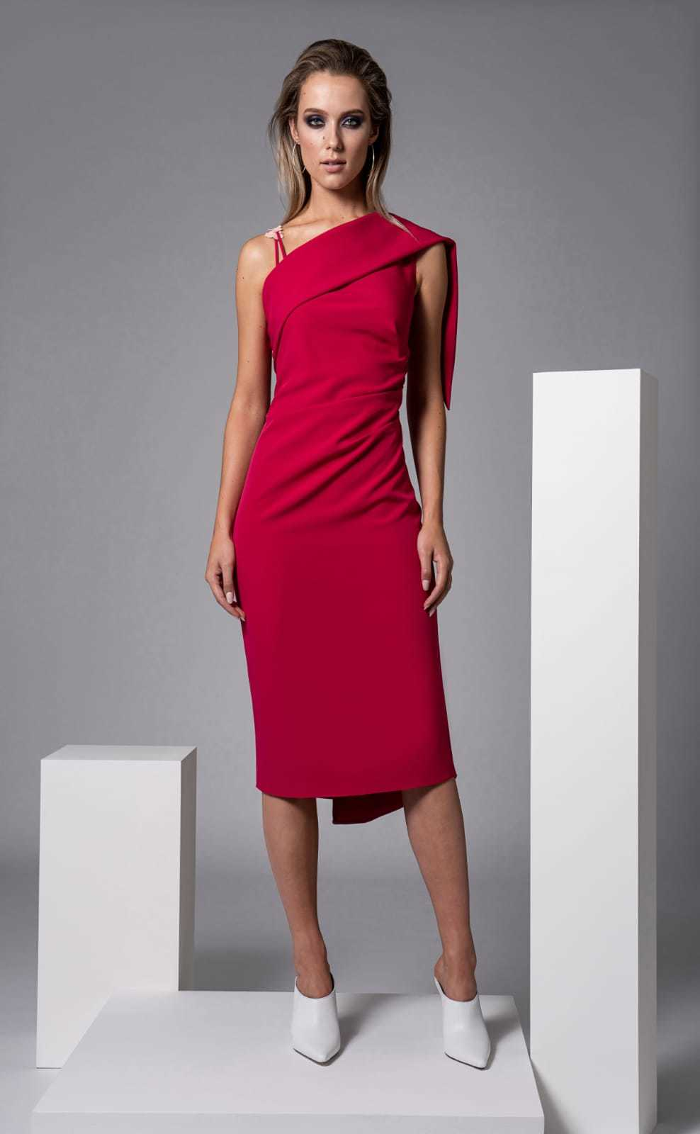Eva Dress CARKKSISDRFUSCHIA