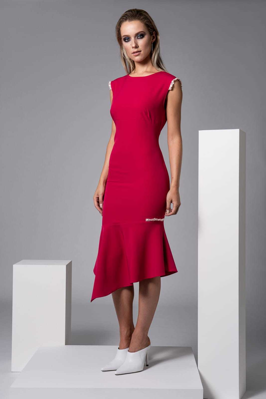 Moor Dress in Fuschia CARKKSISMOORFUS