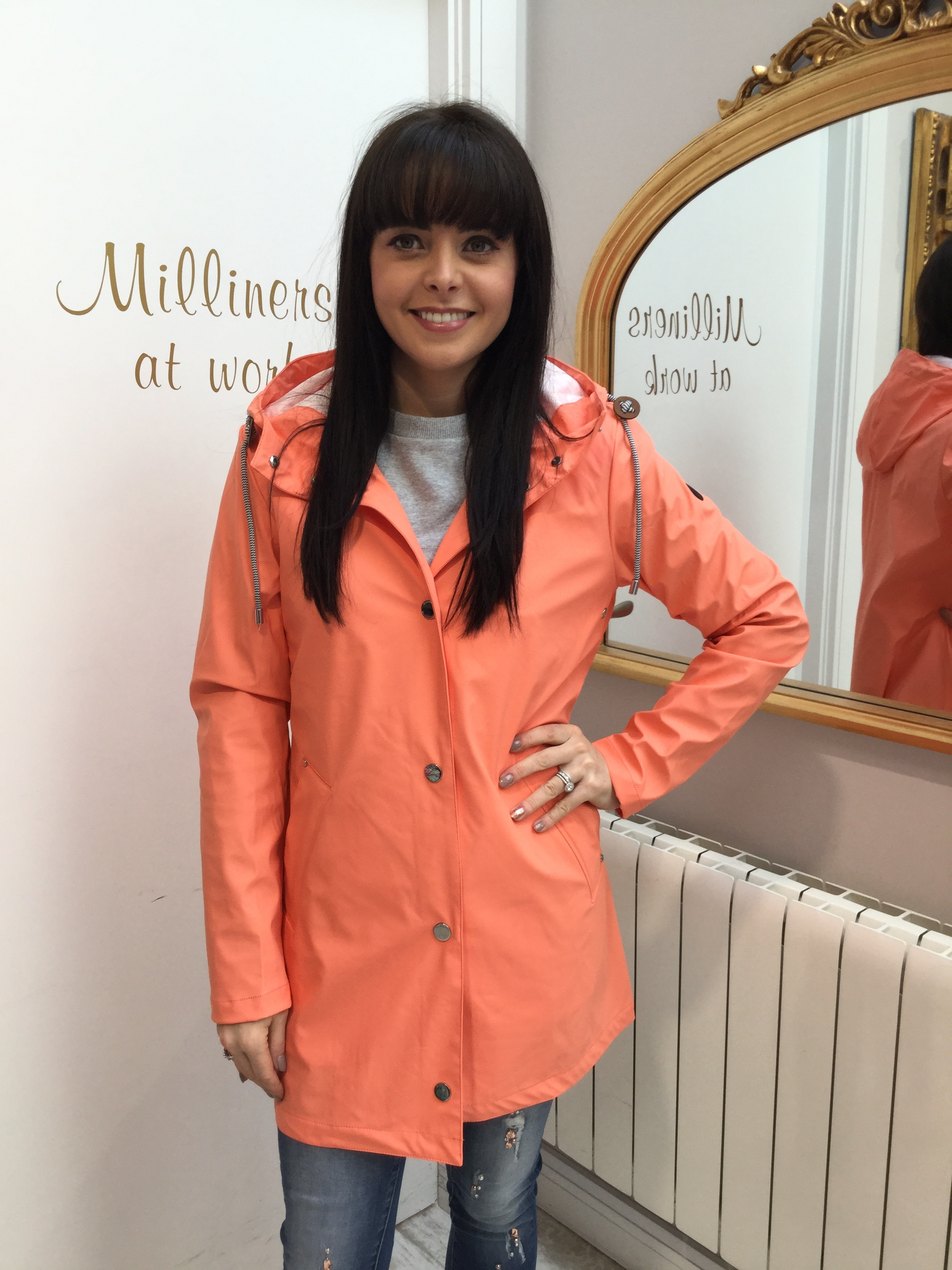 Coral Rain Jacket with Hood BEAUJACK24191