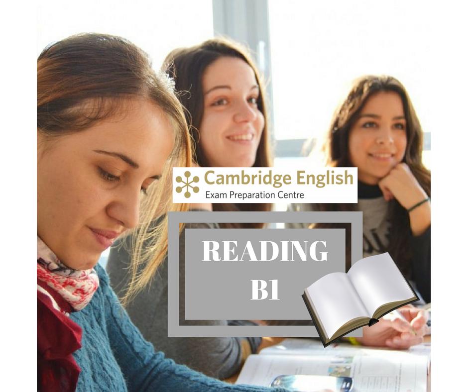 INGLÉS NIVEL B1 (PET) : CURSO ESPECÍFICO DE TÉCNICAS DE EXAMEN DE CAMBRIDGE. PRUEBA READING. B1REA1