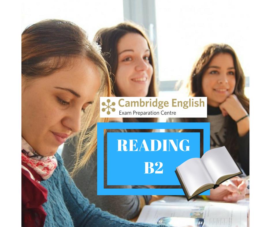 INGLÉS NIVEL B2 (FCE) : CURSO ESPECÍFICO DE TÉCNICAS DE EXAMEN DE CAMBRIDGE. PRUEBA READING. B2REA2