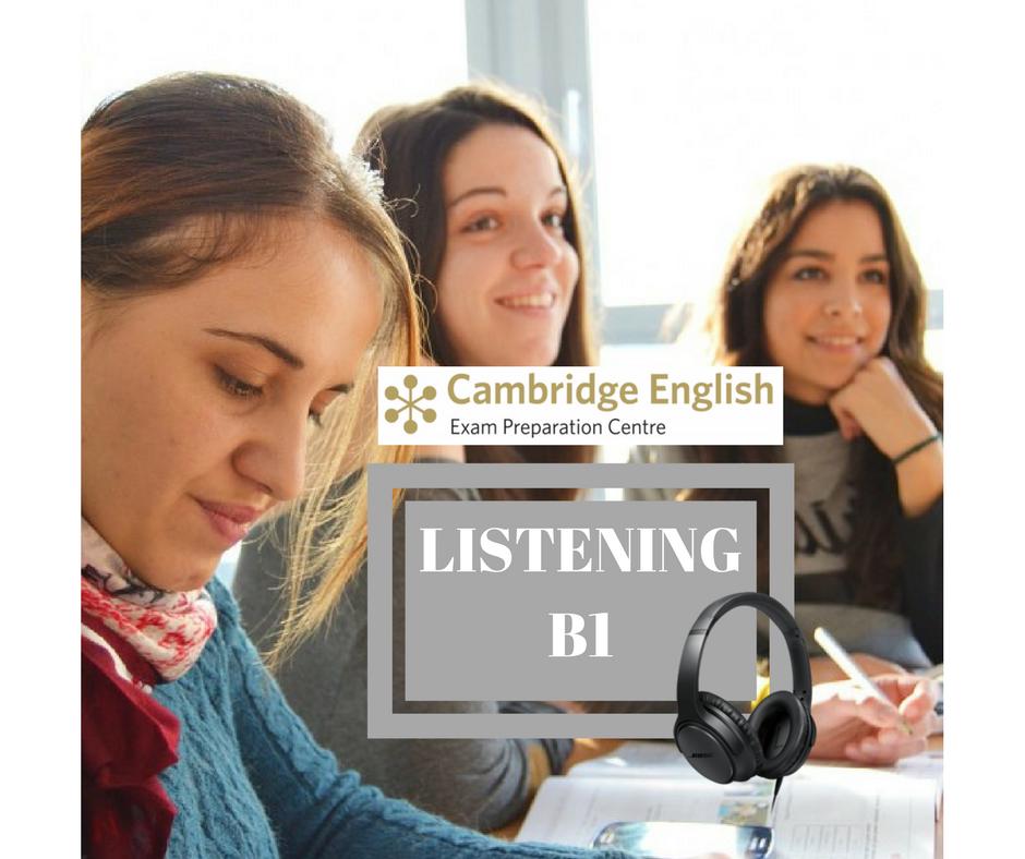 INGLÉS NIVEL B1 (PET) : CURSO ESPECÍFICO DE TÉCNICAS DE EXAMEN DE CAMBRIDGE. PRUEBA LISTENING. B1LIS1