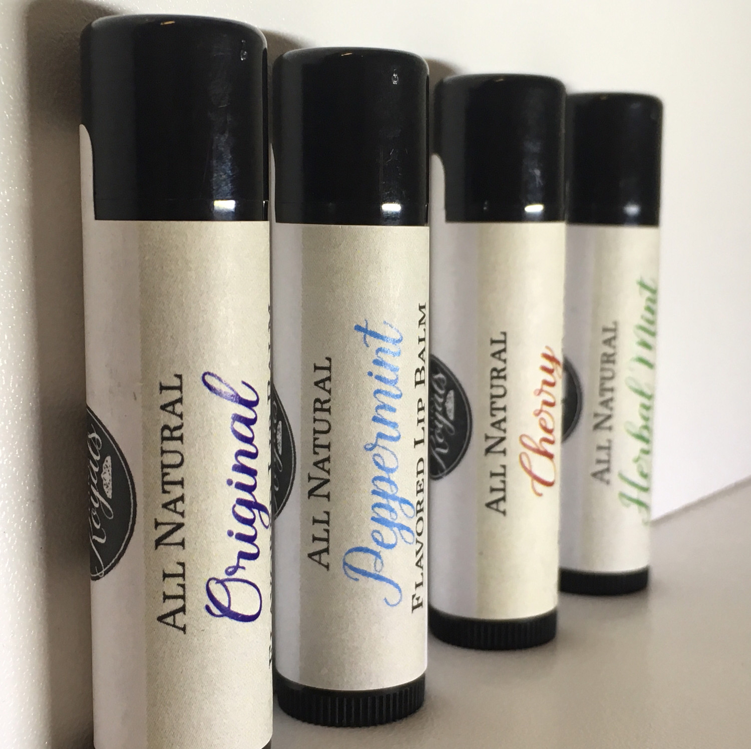 All Natural Flavored Lip Balm