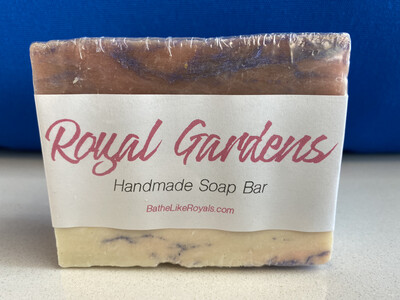 Royal Gardens Handmade Soap Bar - 5oz
